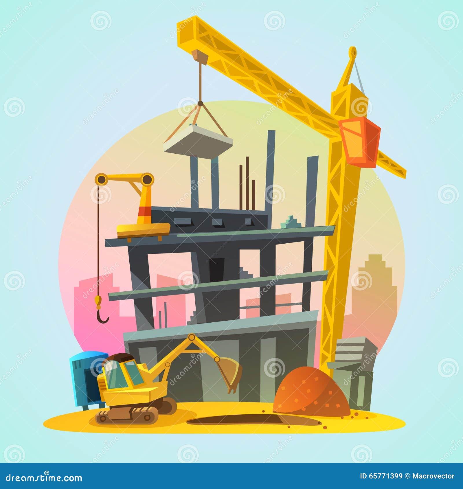 Κινούμενα σχέδια κατασκευής σπιτιών