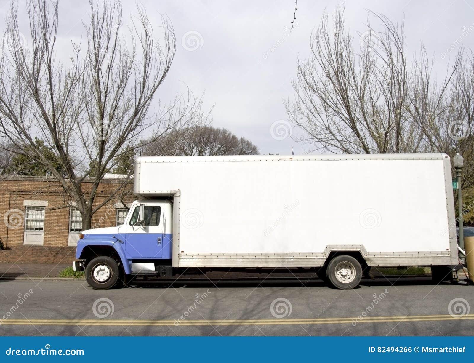Κινούμενο φορτηγό