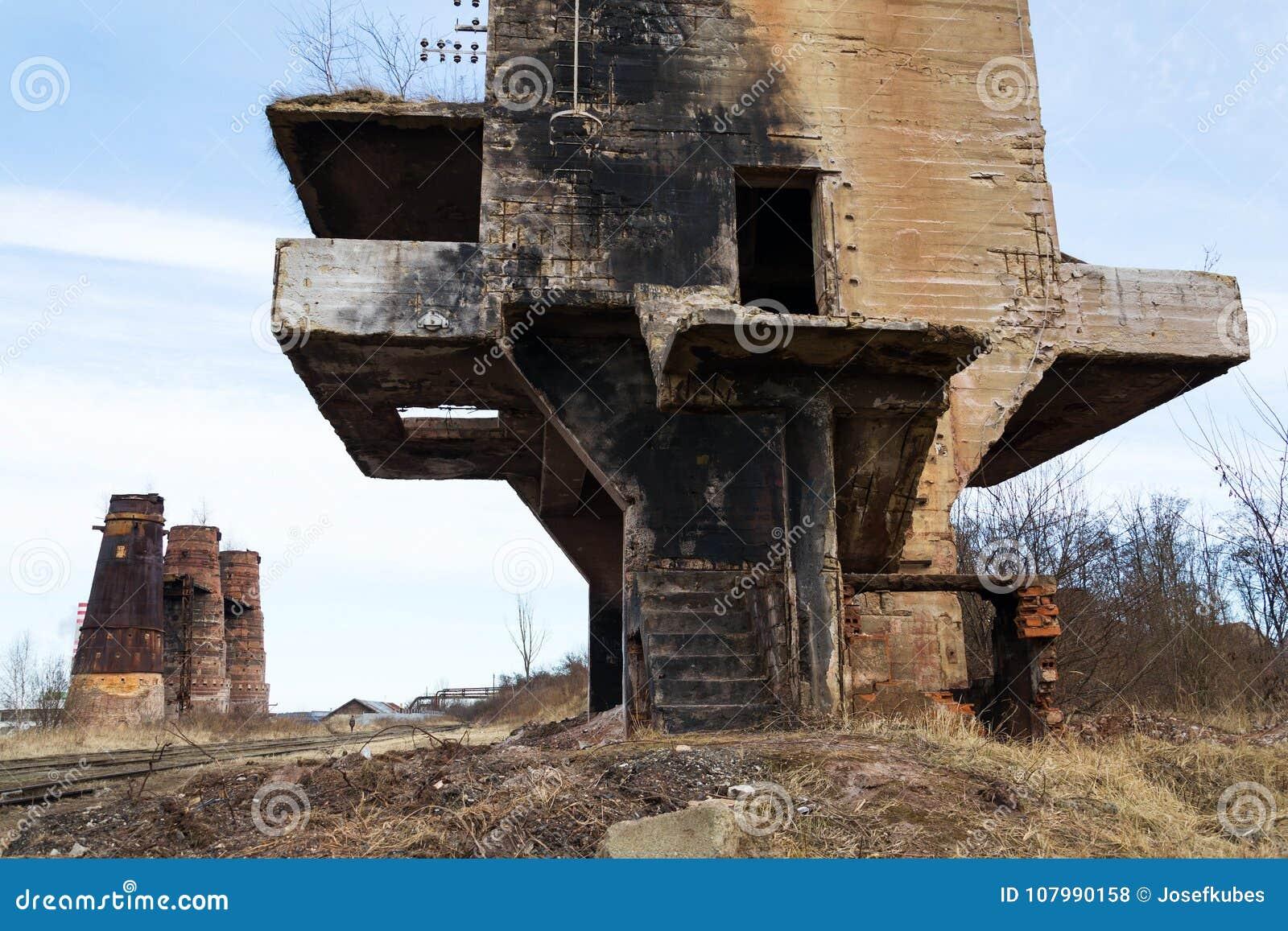 Κλίβανοι ασβέστη στο Κλάντνο, Δημοκρατία της Τσεχίας, εθνικό πολιτιστικό μνημείο