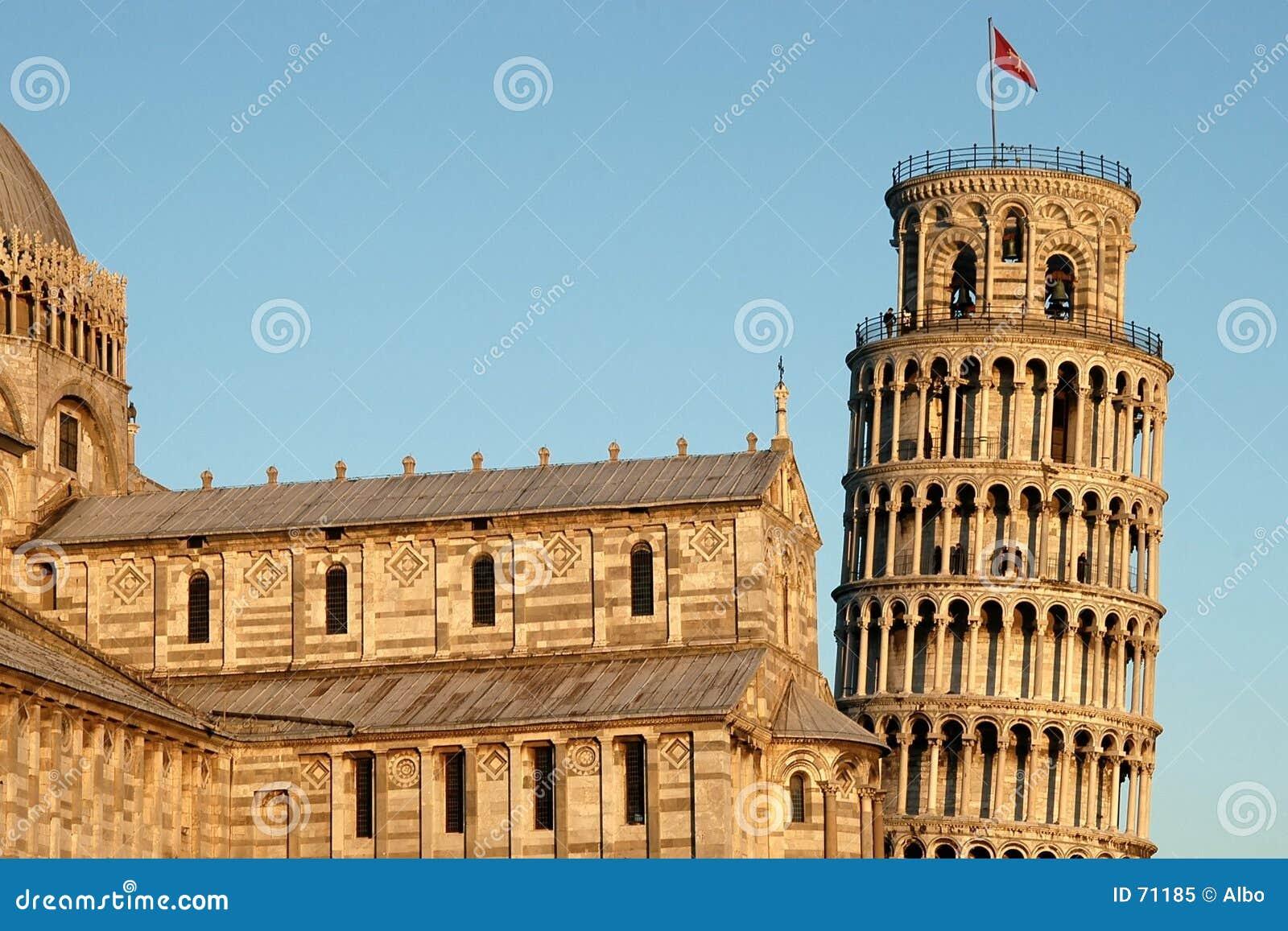 κλίνοντας πύργος της Πίζα&sig