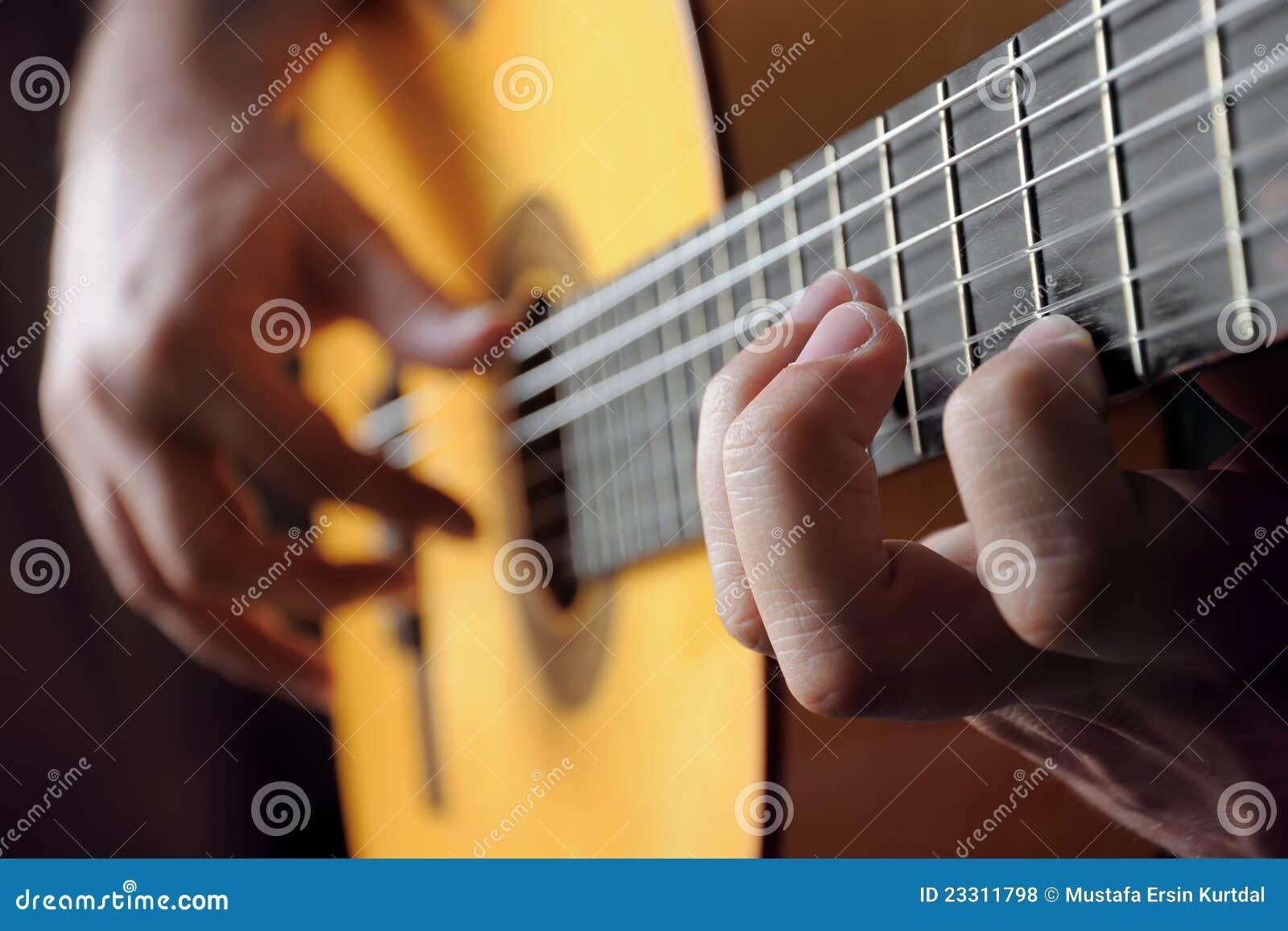 κλασσικό παιχνίδι κιθάρων