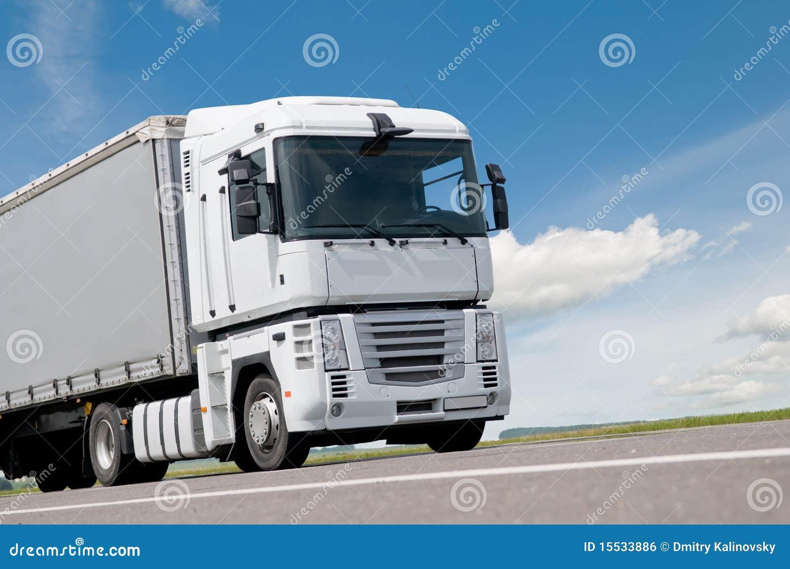 κλείστε το οδικό truck φορτη&g