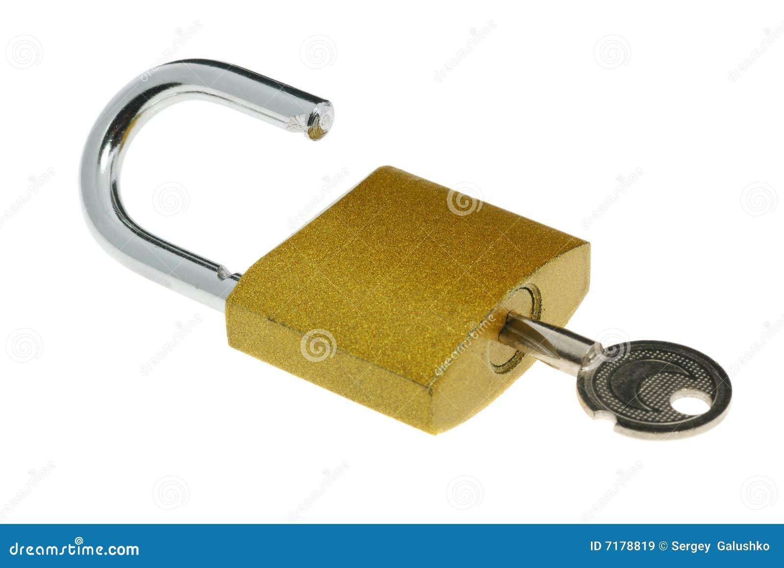 κλειδώστε το κλείδωμα ανοικτό