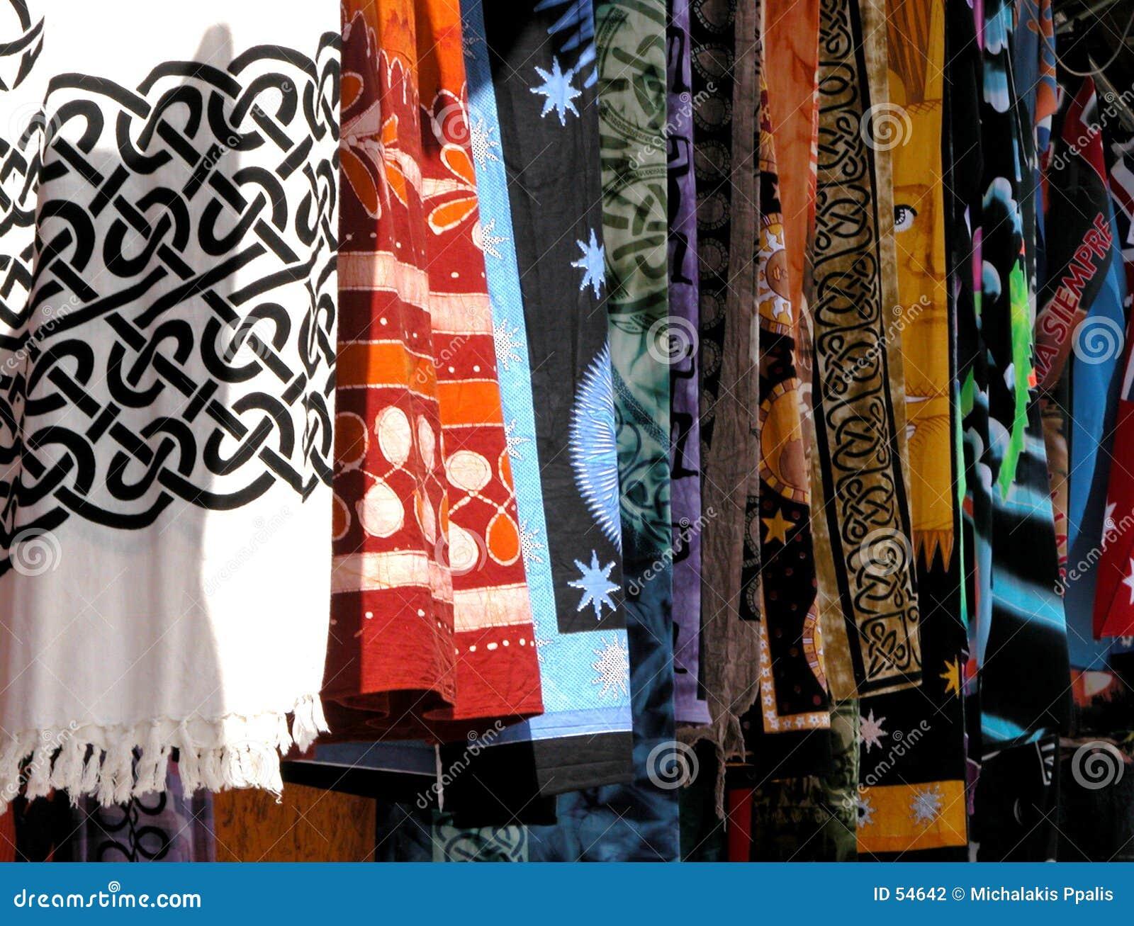 Download κλωστοϋφαντουργικό προϊόν χρωμάτων Στοκ Εικόνες - εικόνα από textile, συστάσεις: 54642