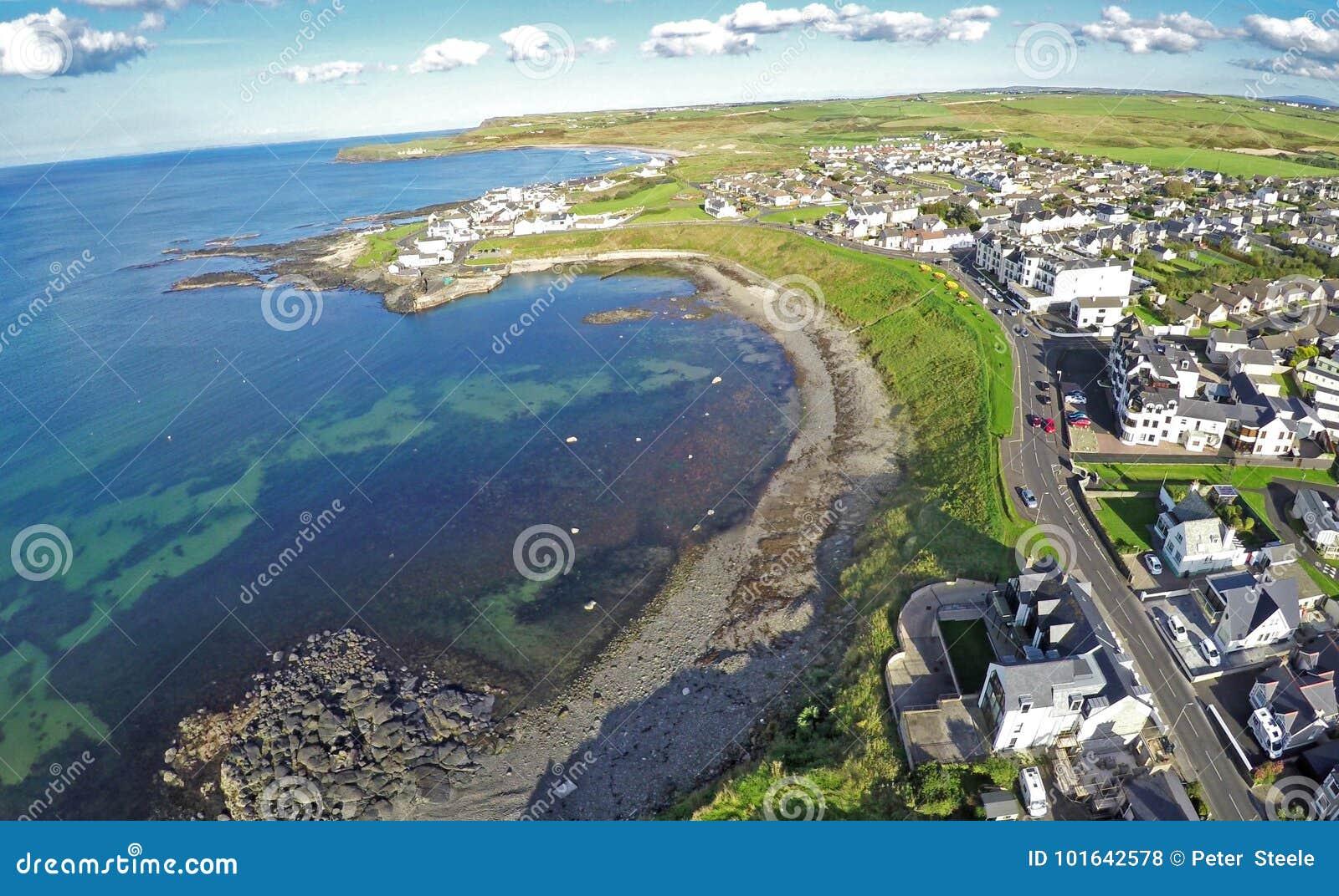 Κοβάλτιο Portballintrae Antrim Βόρεια Ιρλανδία