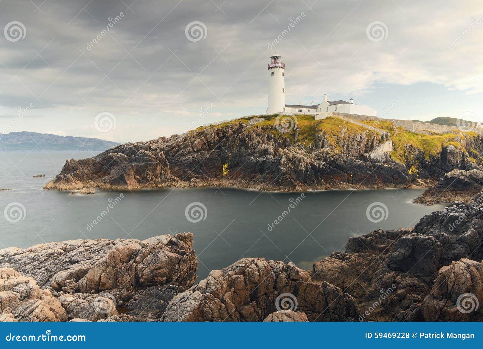 Κοβάλτιο φάρων Fanad Donegal Ιρλανδία