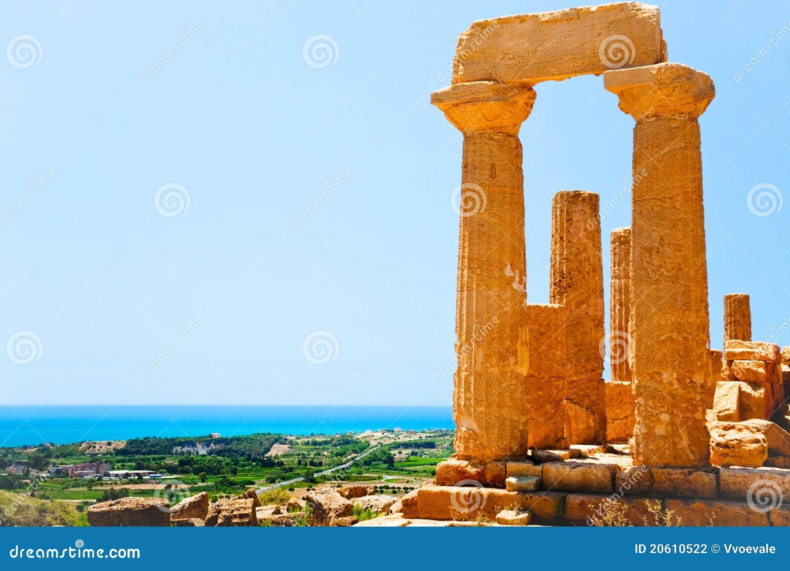 κοιλάδα ναών ναών της Σικε&l