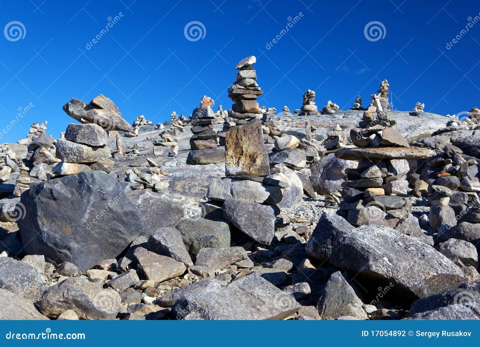 κοιλάδα πετρών