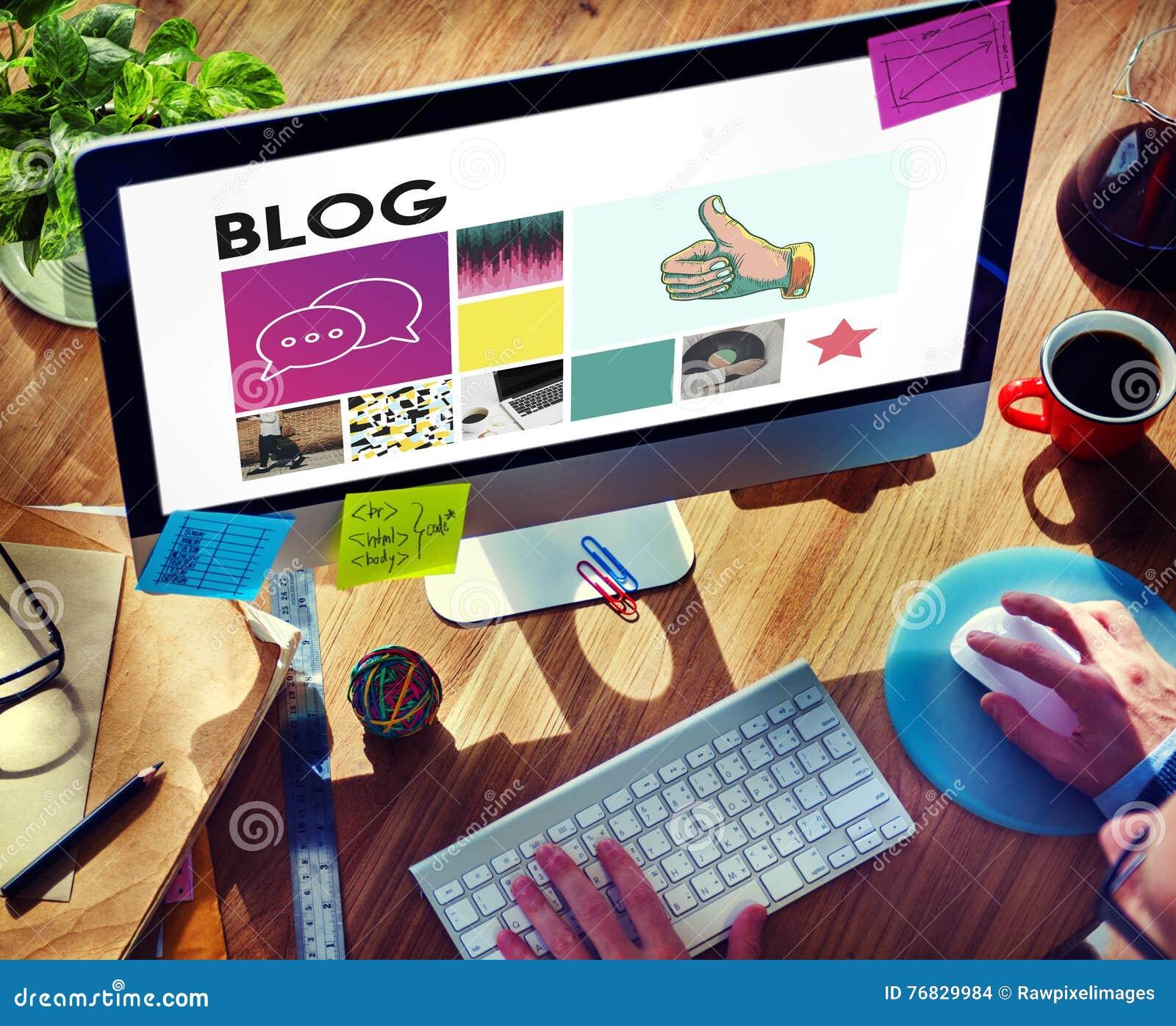 Κοινωνική επικοινωνία συνομιλίας επικοινωνίας Blog μέσων