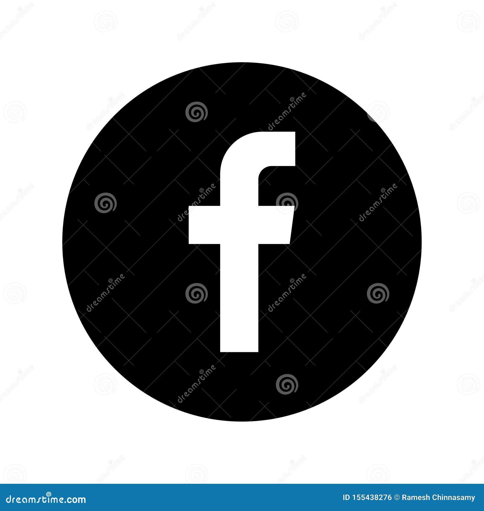 Κοινωνικό κουμπί εικονιδίων μέσων Facebook