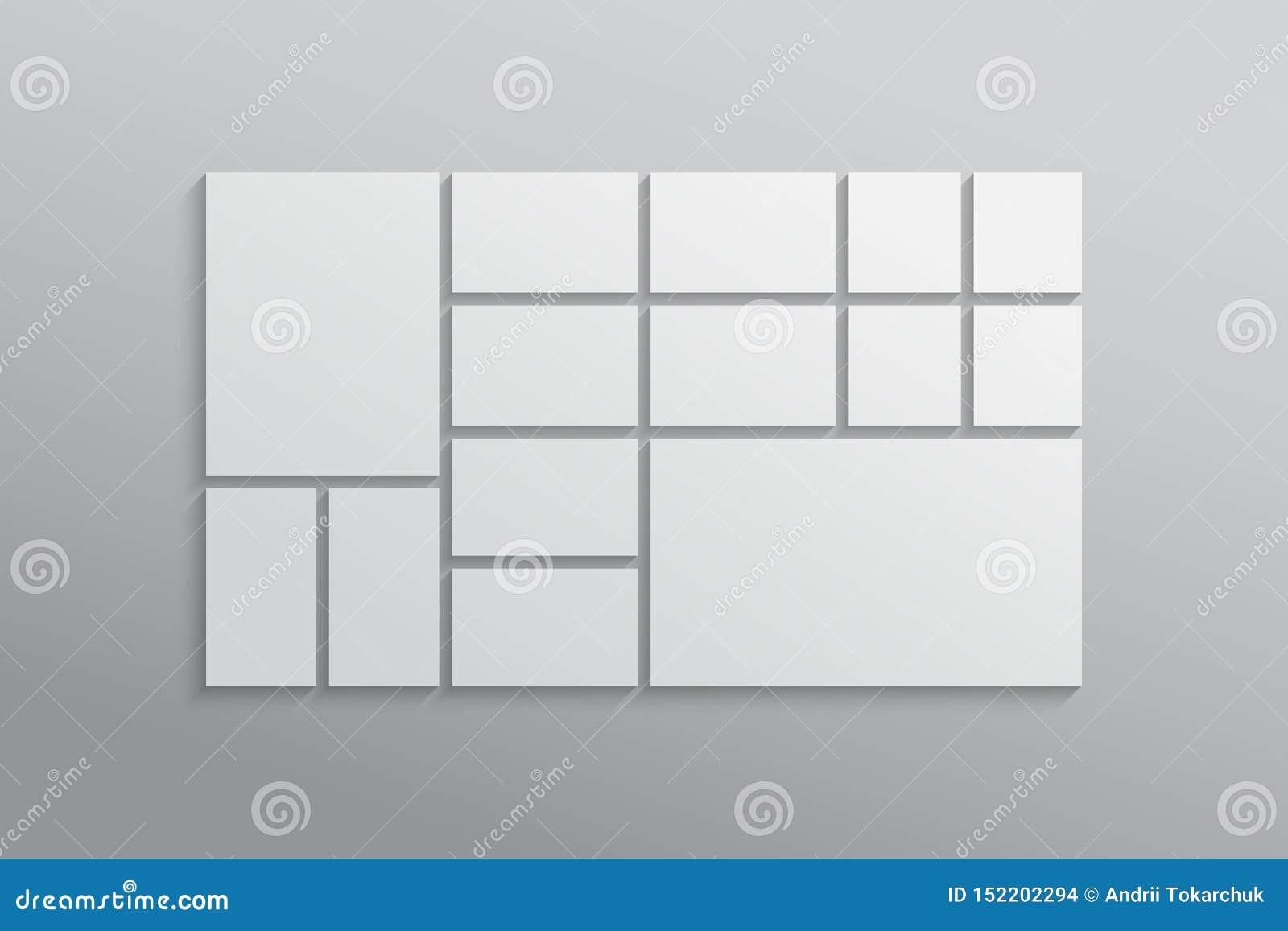 Κολάζ δεκατέσσερα πλαίσια, φωτογραφίες, μέρη ή εικόνες