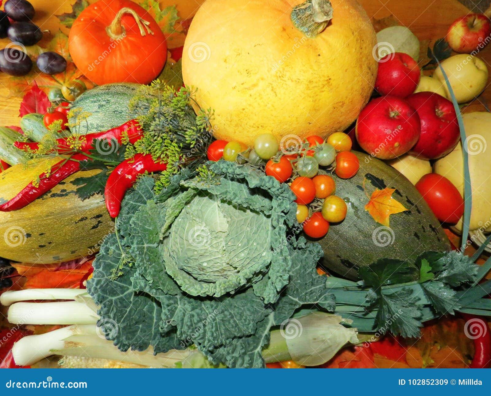 Κολοκύθα και ένα άλλα λαχανικά