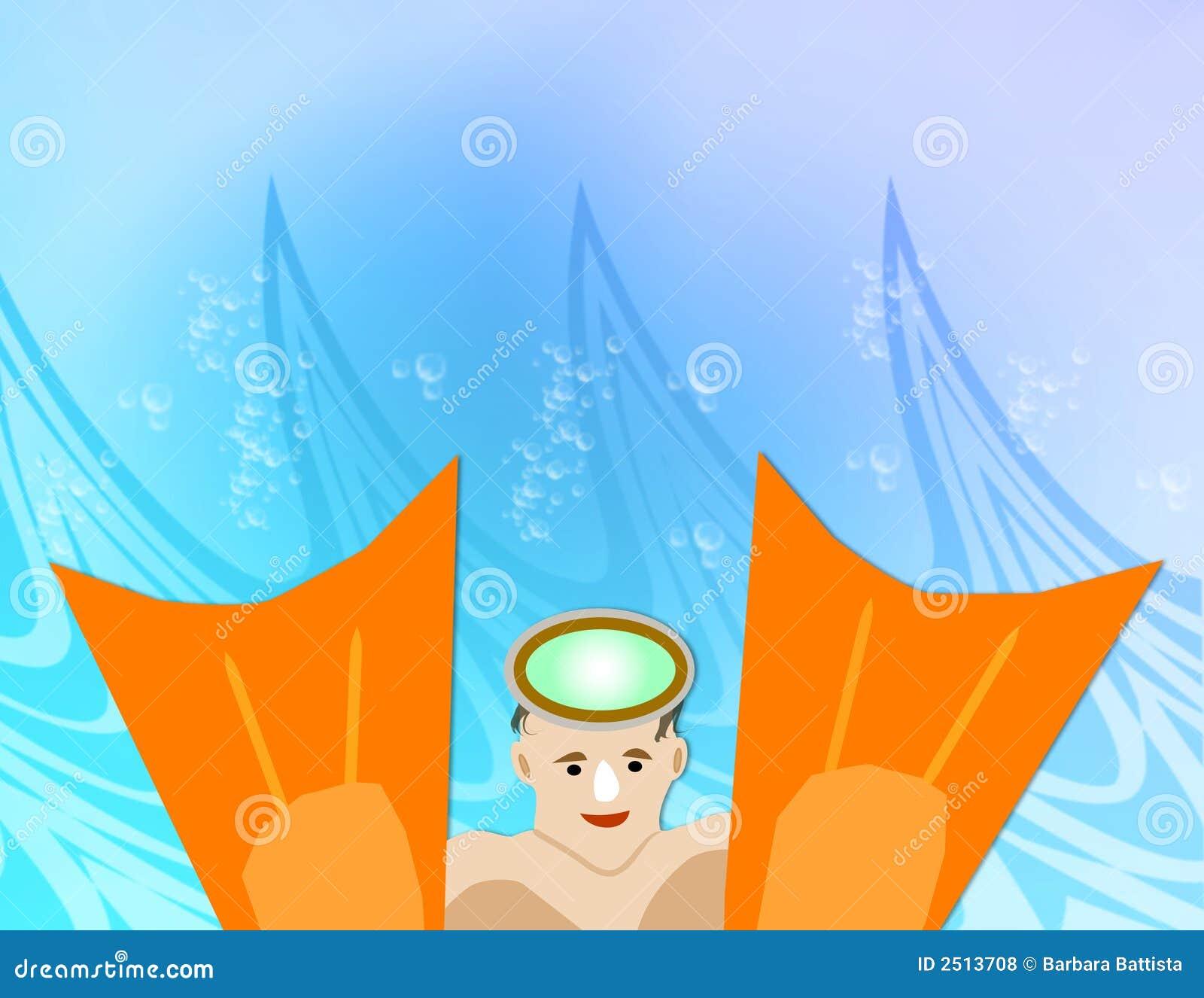 κολυμβητής πτερυγίων