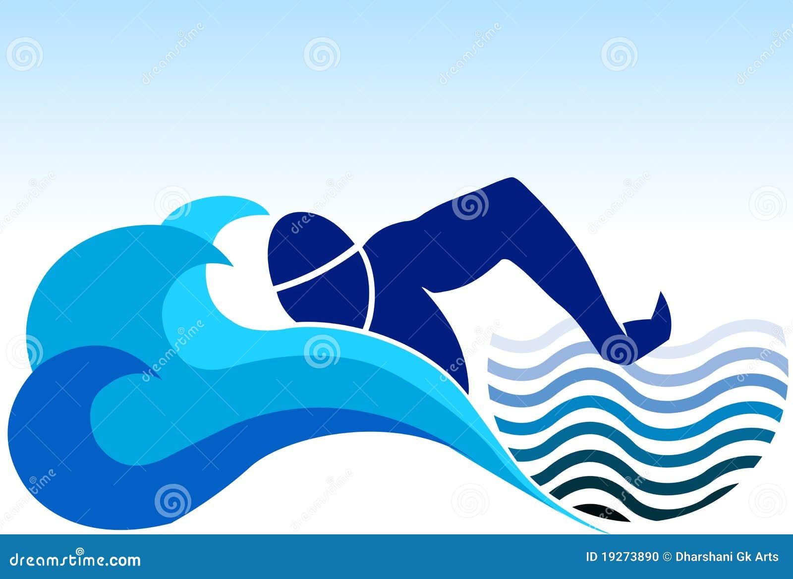 κολύμβηση λογότυπων