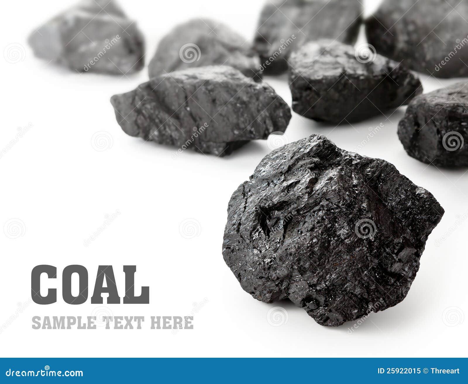 Κομμάτια άνθρακα