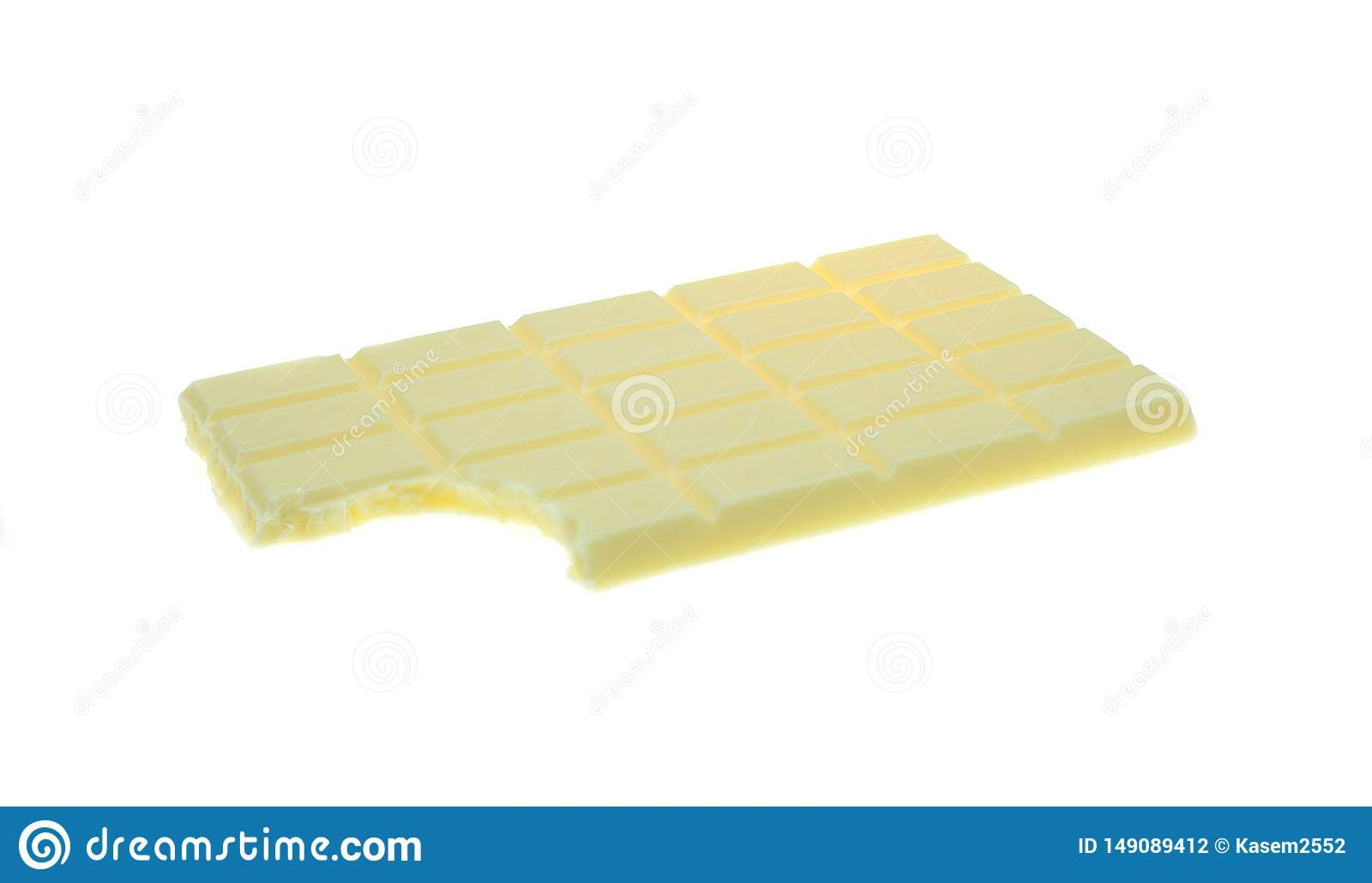 Κομμάτια και φραγμός σοκολάτας