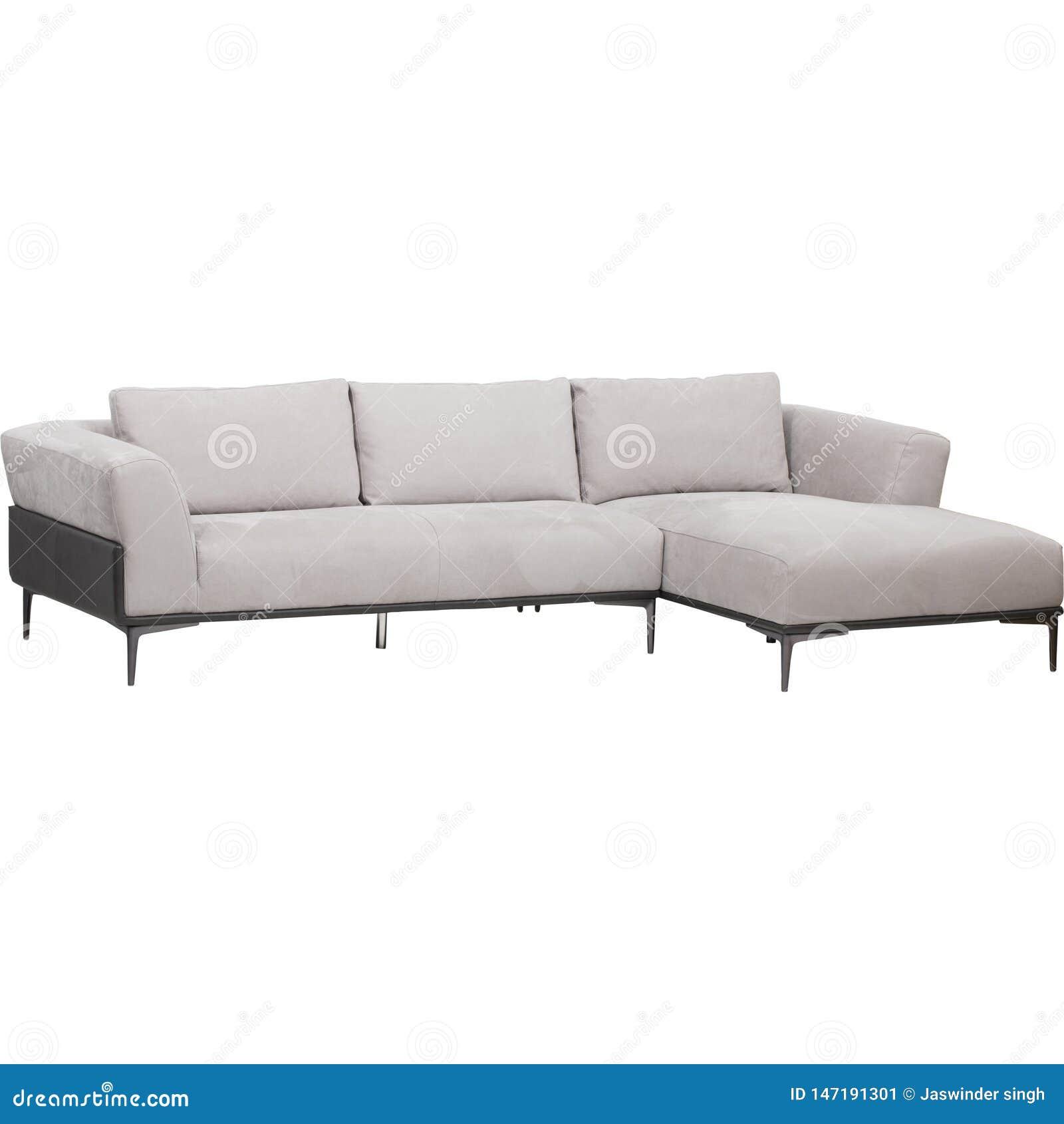 Κομψή καναπές-απόδοση - απεικόνιση