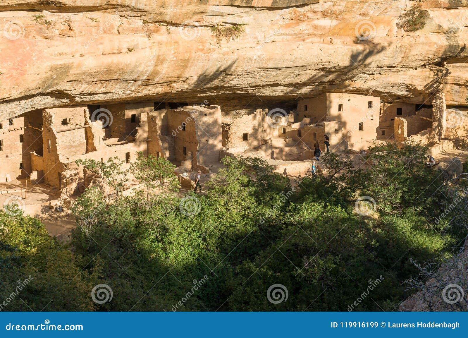 Κομψό σπίτι δέντρων στο εθνικό πάρκο Mesa Verde