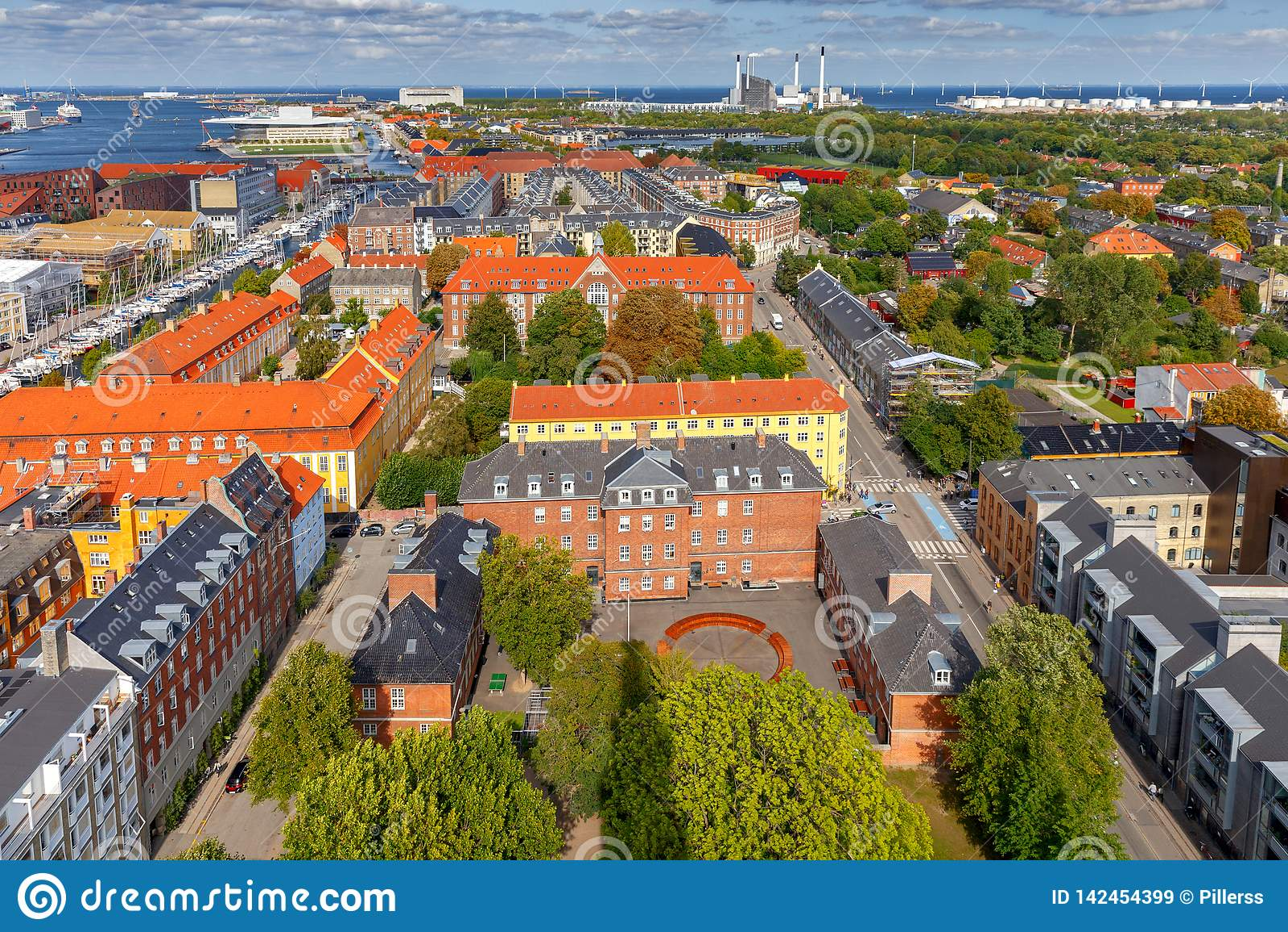 Κοπεγχάγη εναέρια όψη πόλεων