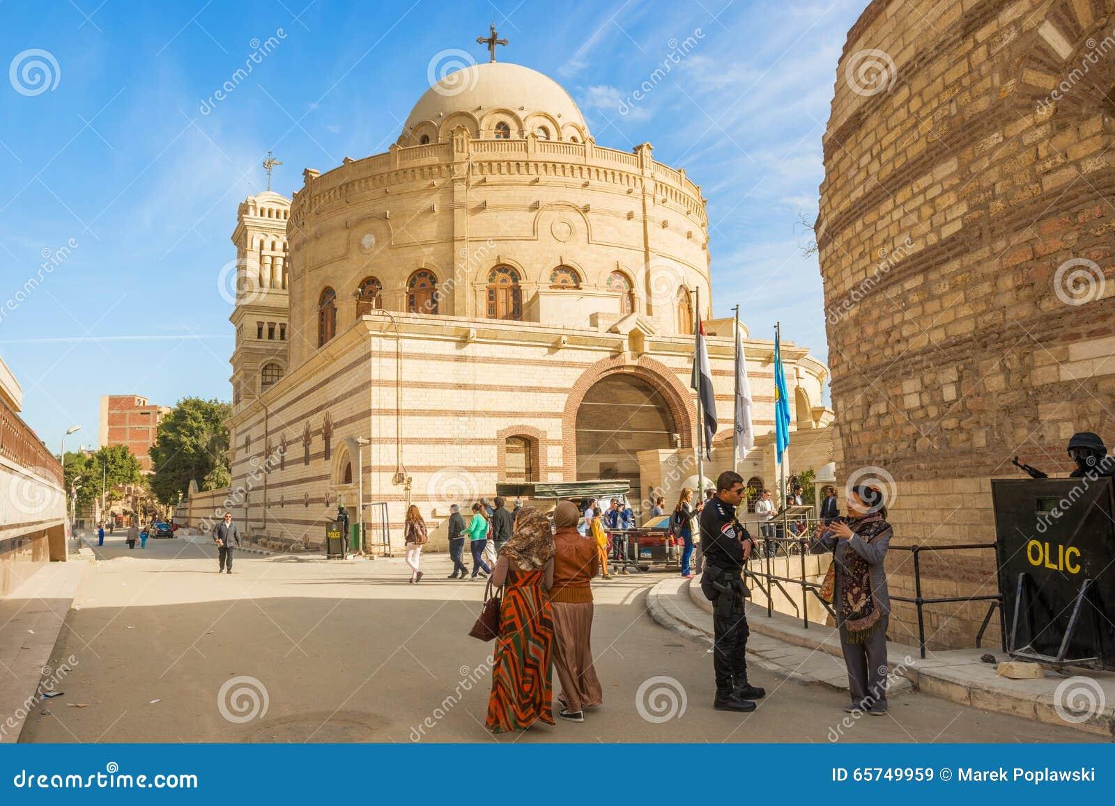 Κοπτική Εκκλησία στο Κάιρο, Αίγυπτος