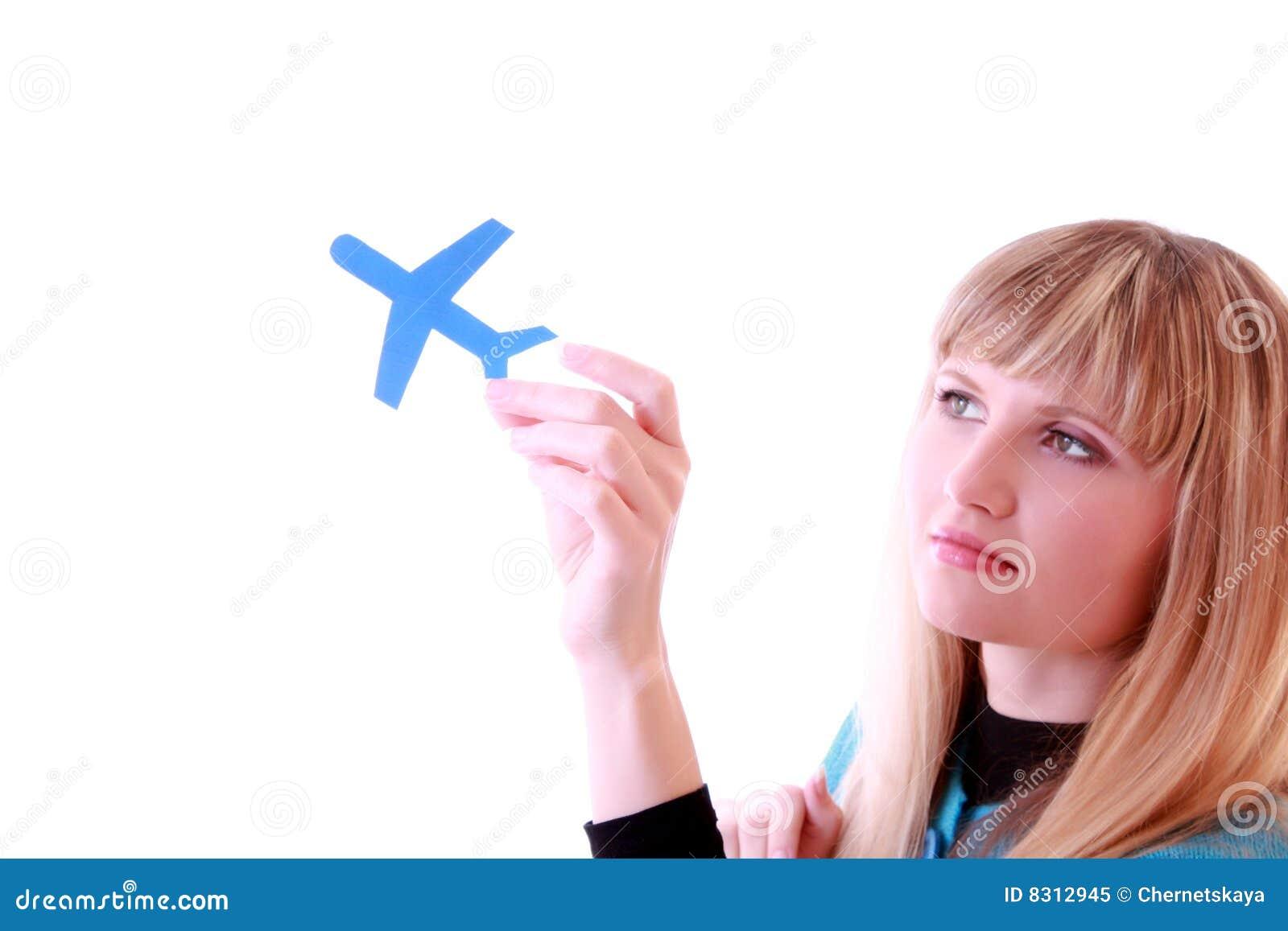 κορίτσι αεροπλάνων