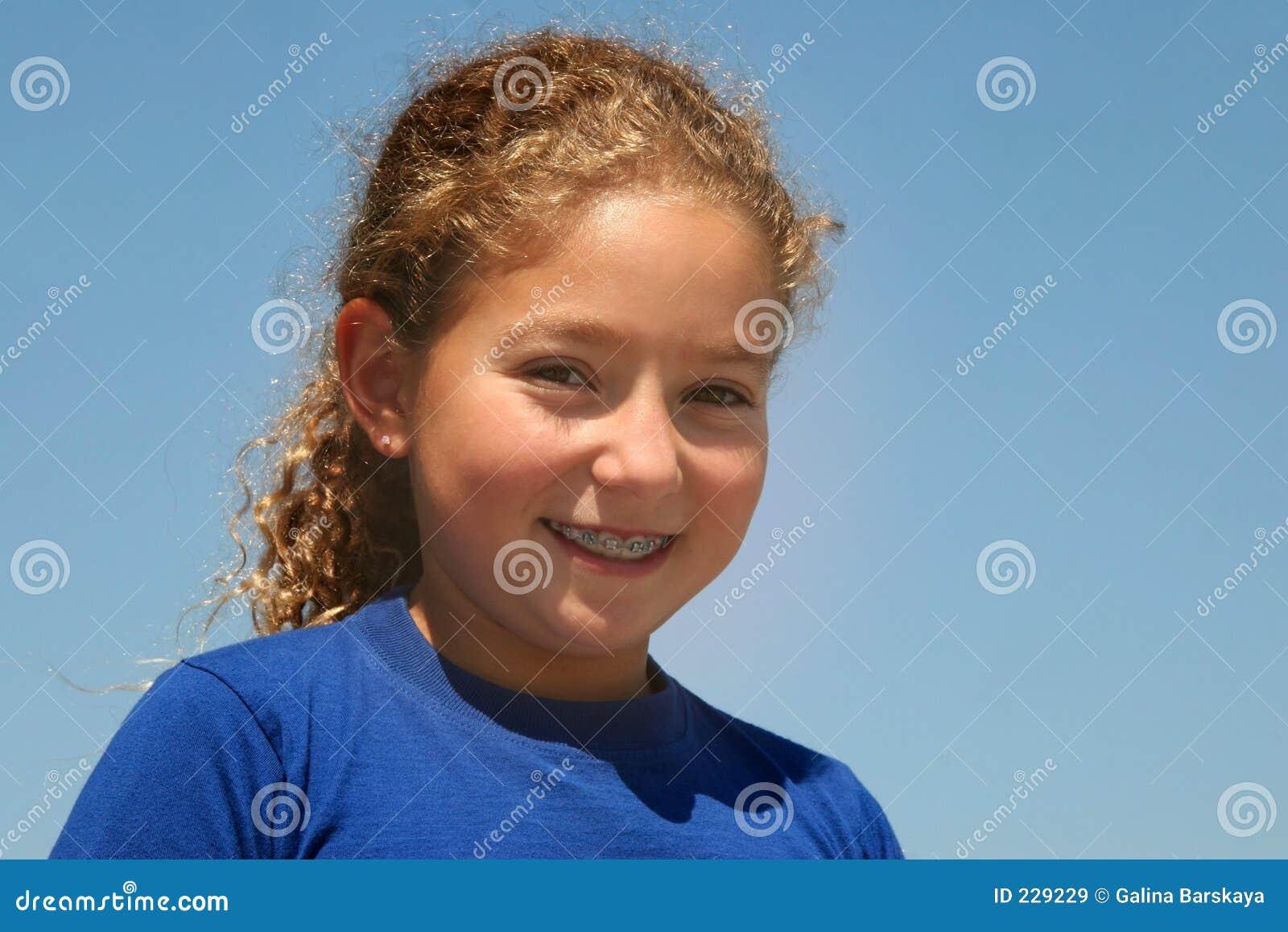 κορίτσι ευτυχές
