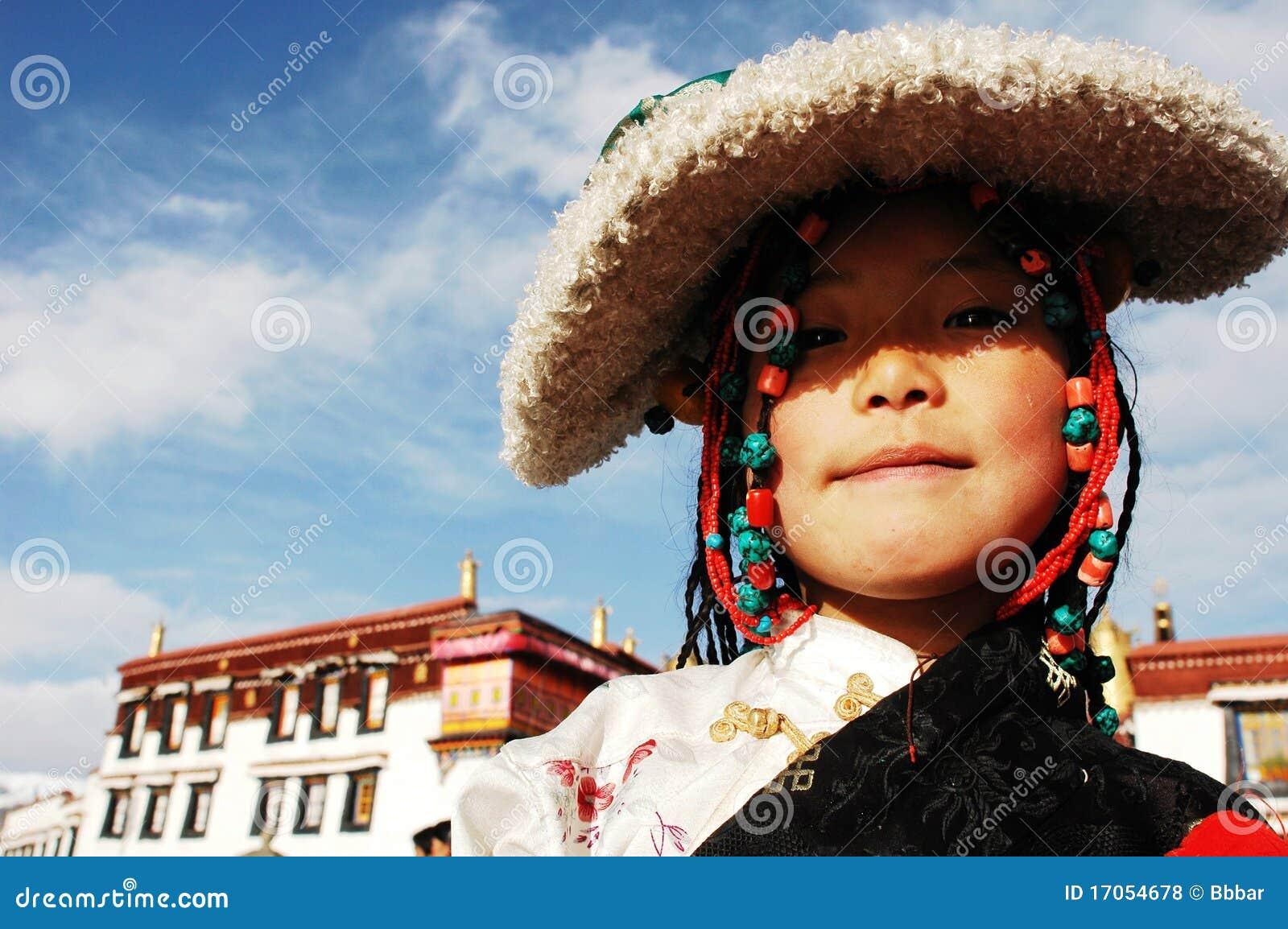 κορίτσι Θιβετιανός