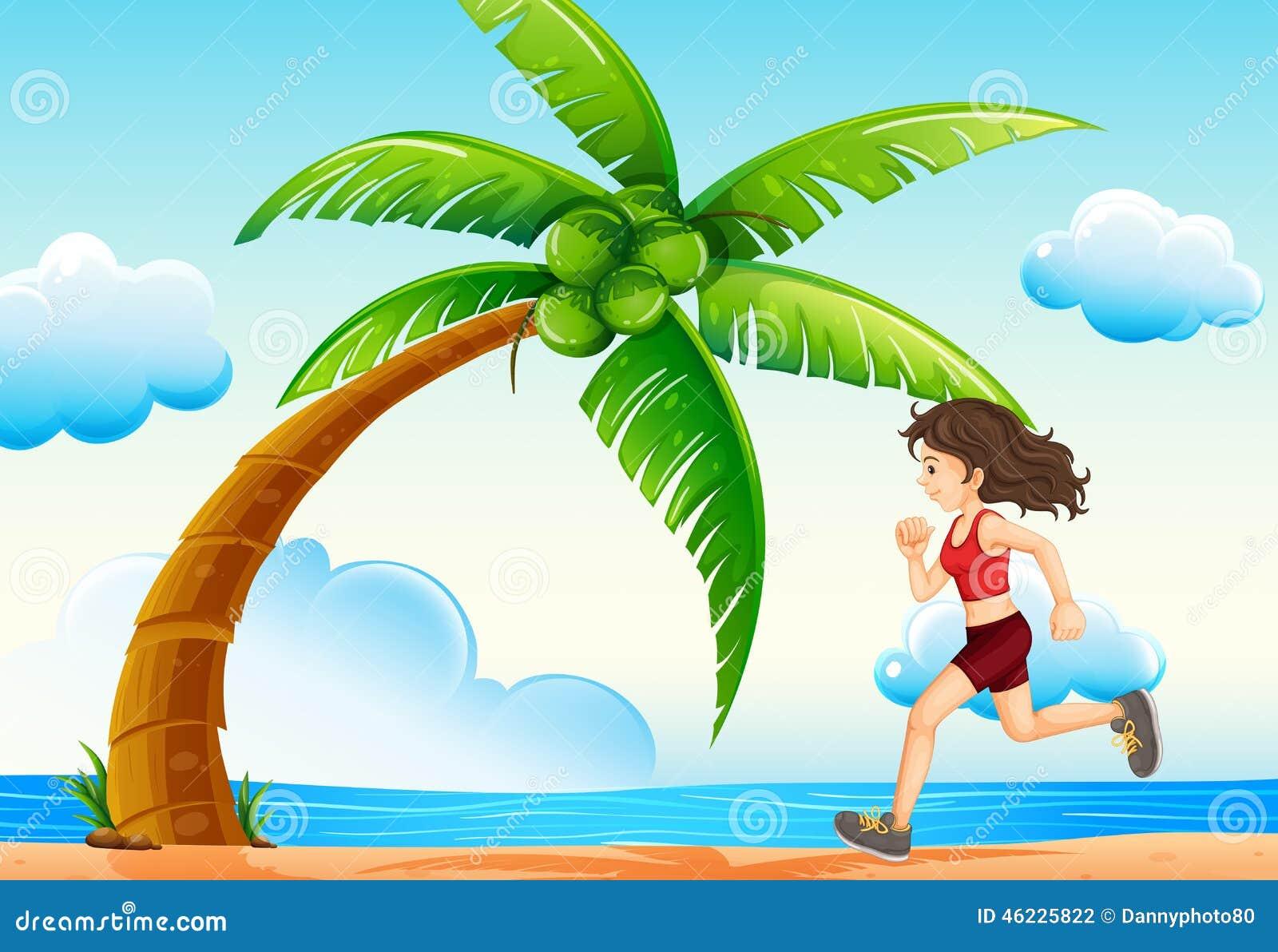 Κορίτσι και παραλία