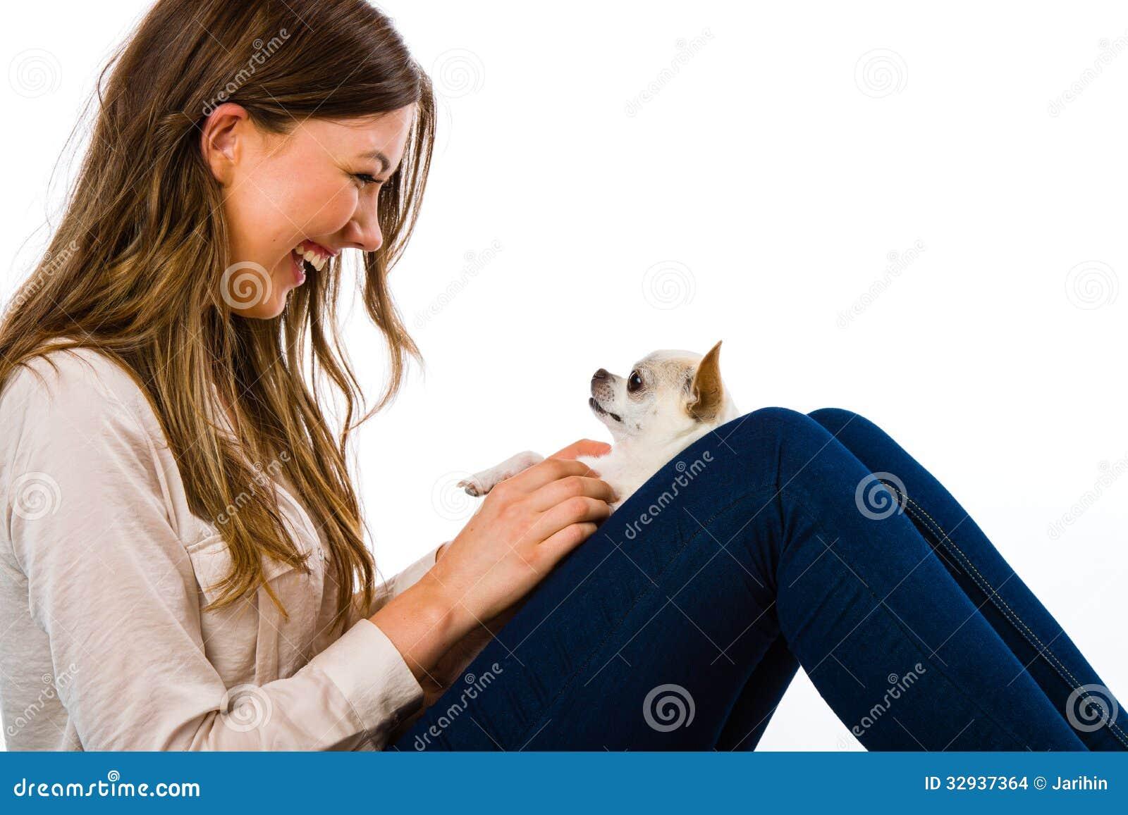 Κορίτσι και σκυλί