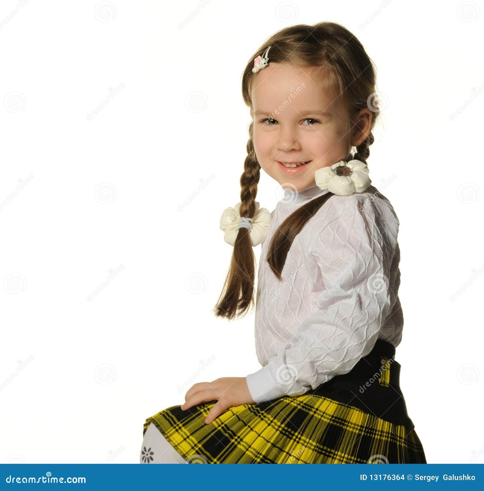 κορίτσι λίγο πορτρέτο όμορ