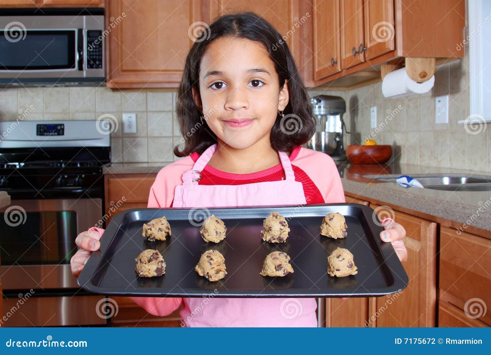 κορίτσι μπισκότων