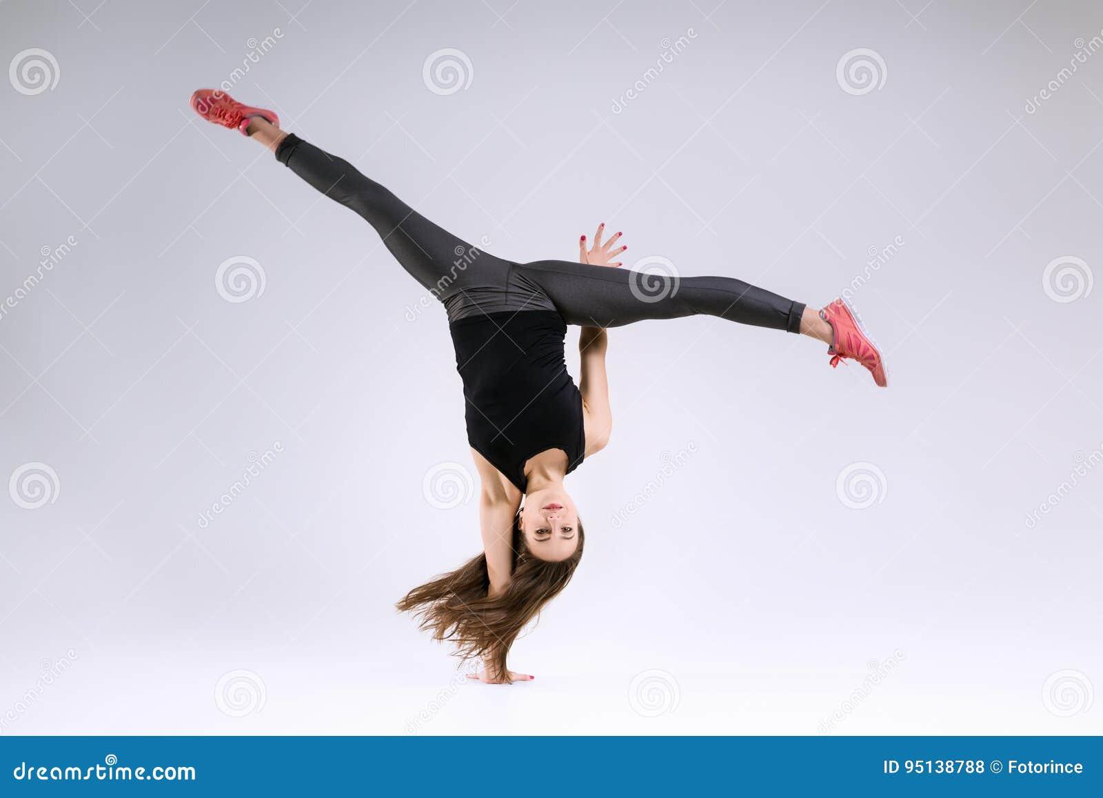 Κορίτσι στο άλμα