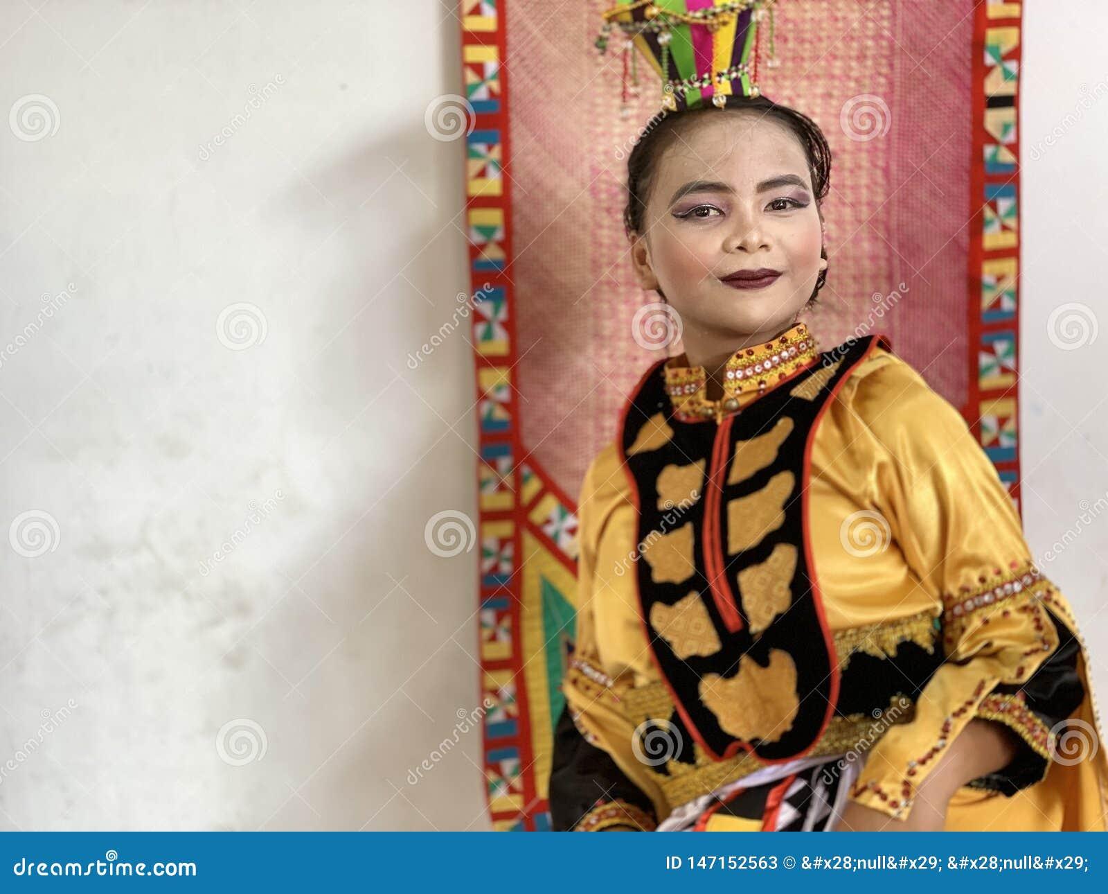 Κορίτσι Bajau, Sabah