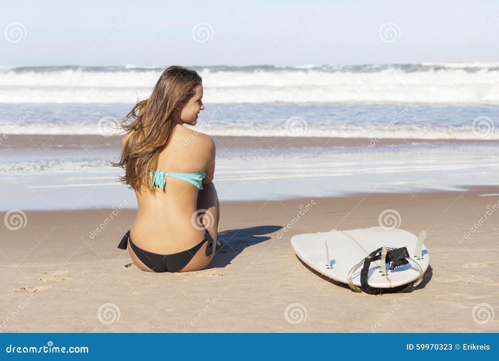 Κορίτσι Surfer