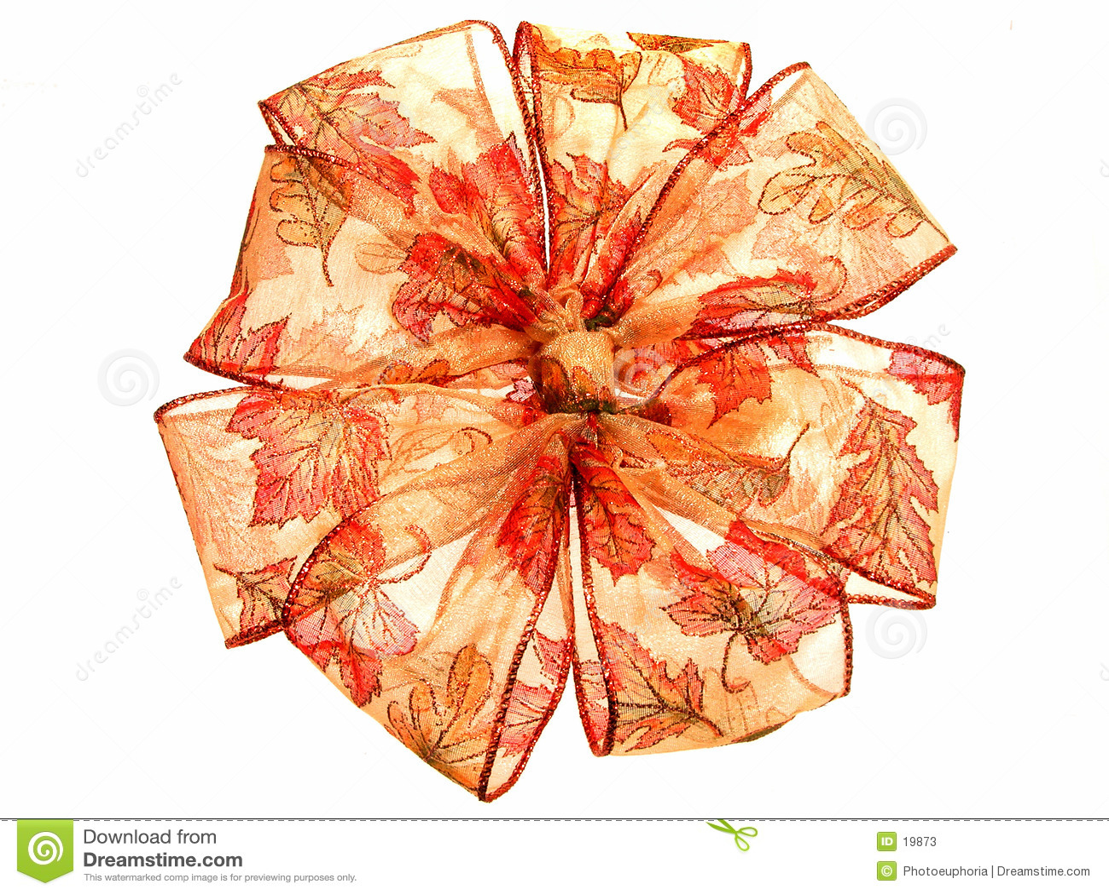 κορδέλλα πτώσης χρώματος διαφανής