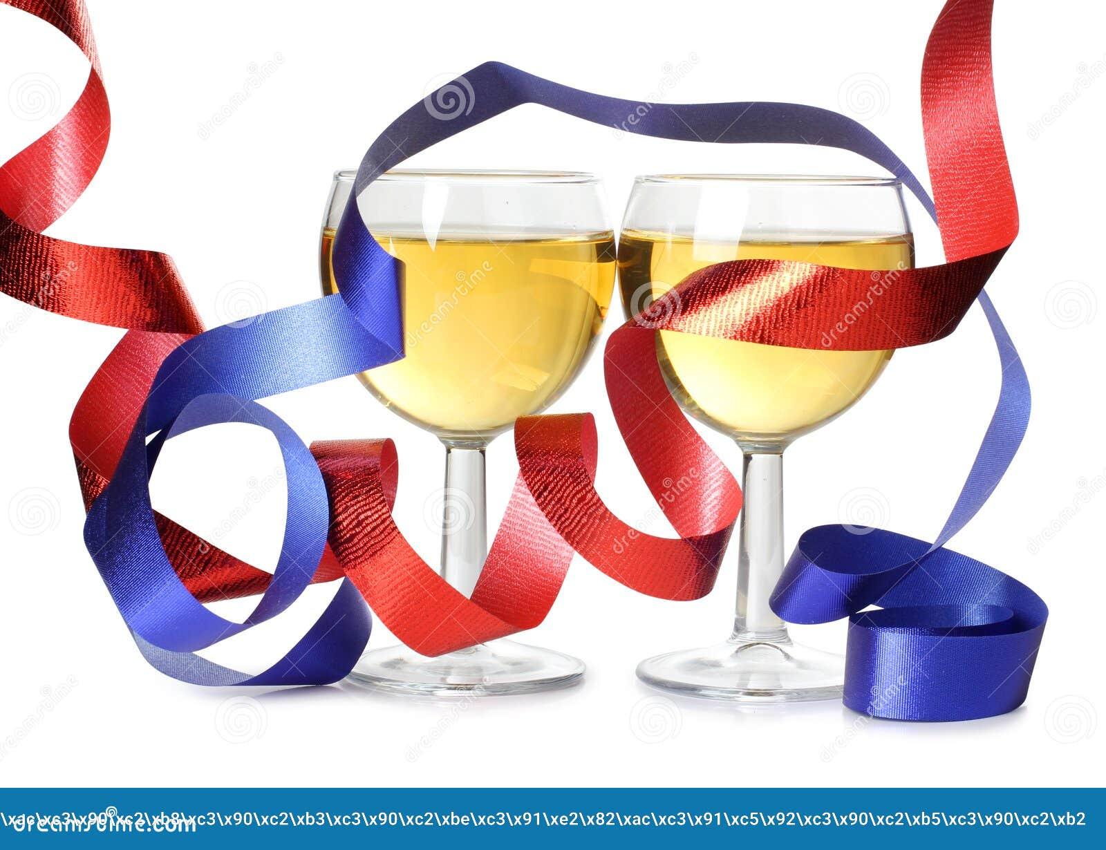 κορδέλλες δύο κρασί
