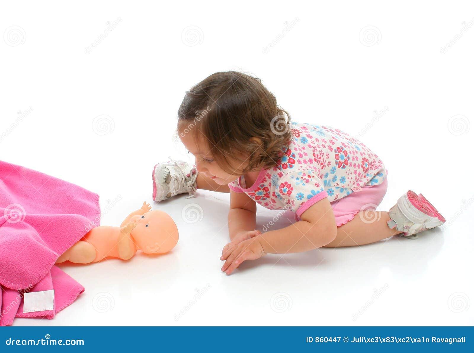 κοριτσάκι αυτή λίγο παιχνίδι