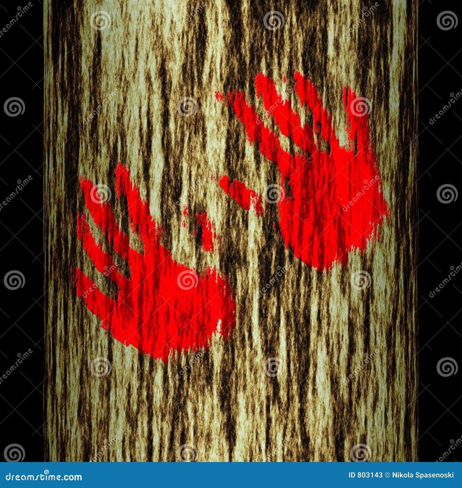 κορμός δέντρων χεριών