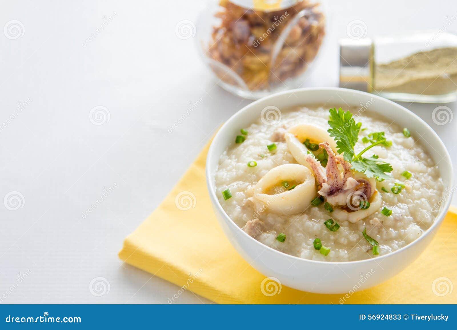 Κουάκερ ρυζιού με τις γαρίδες