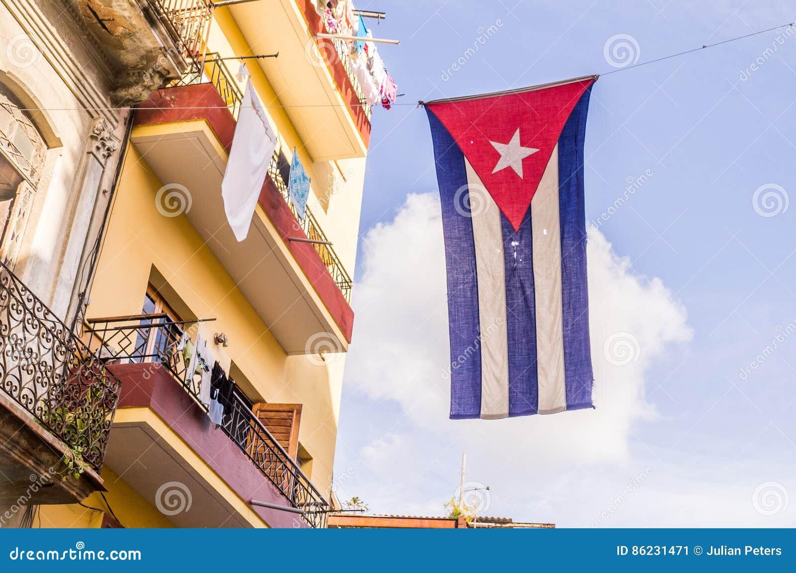 κουβανική σημαία Αβάνα