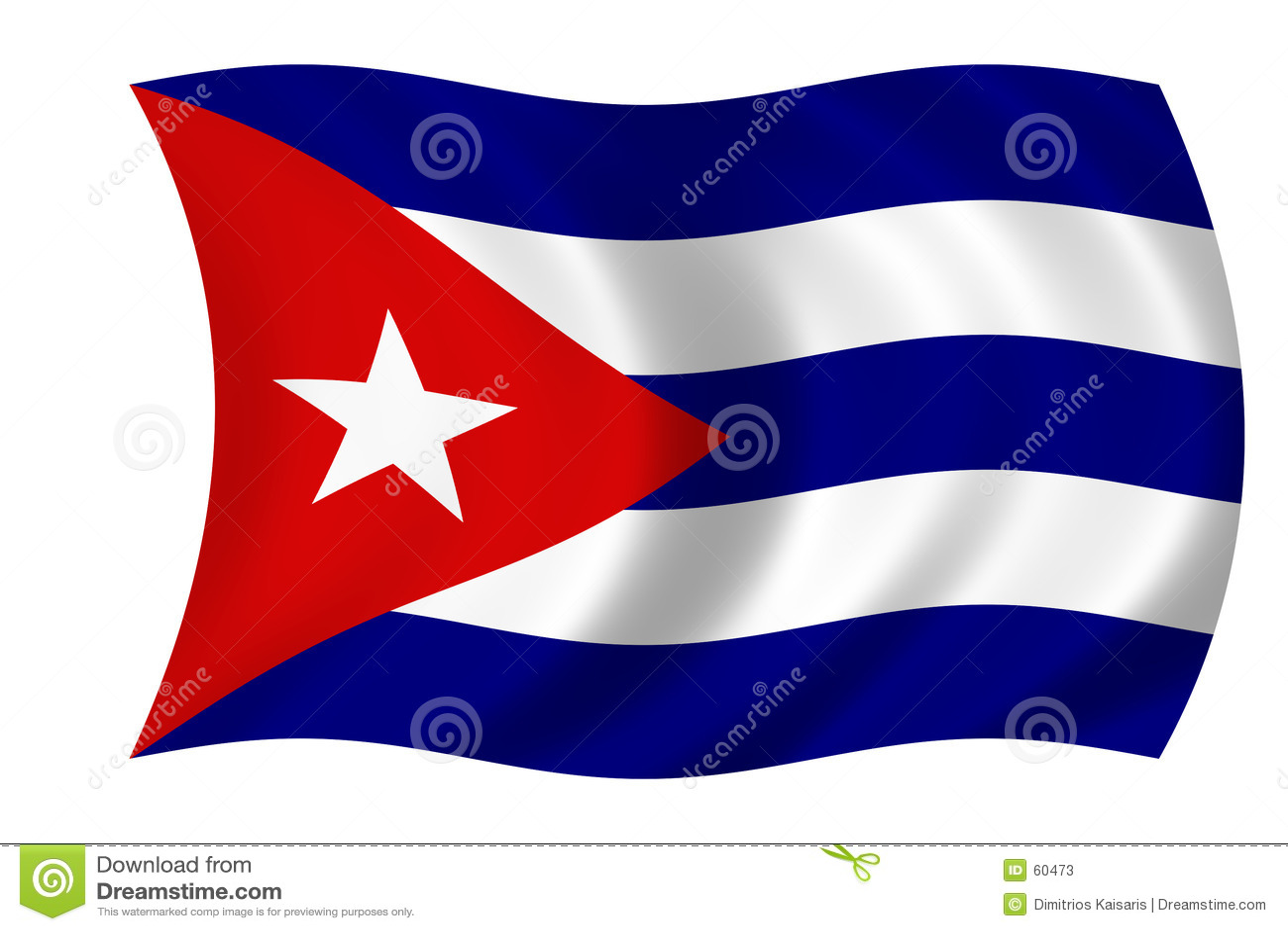 κουβανική σημαία