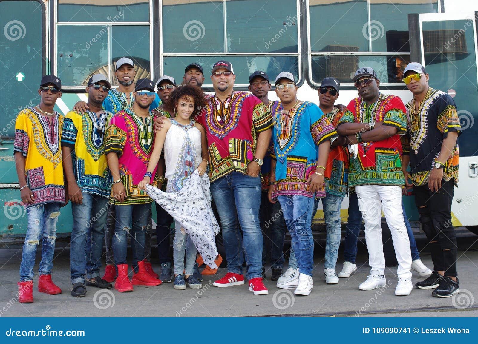 Κουβανικό σύνολο χορού Afro