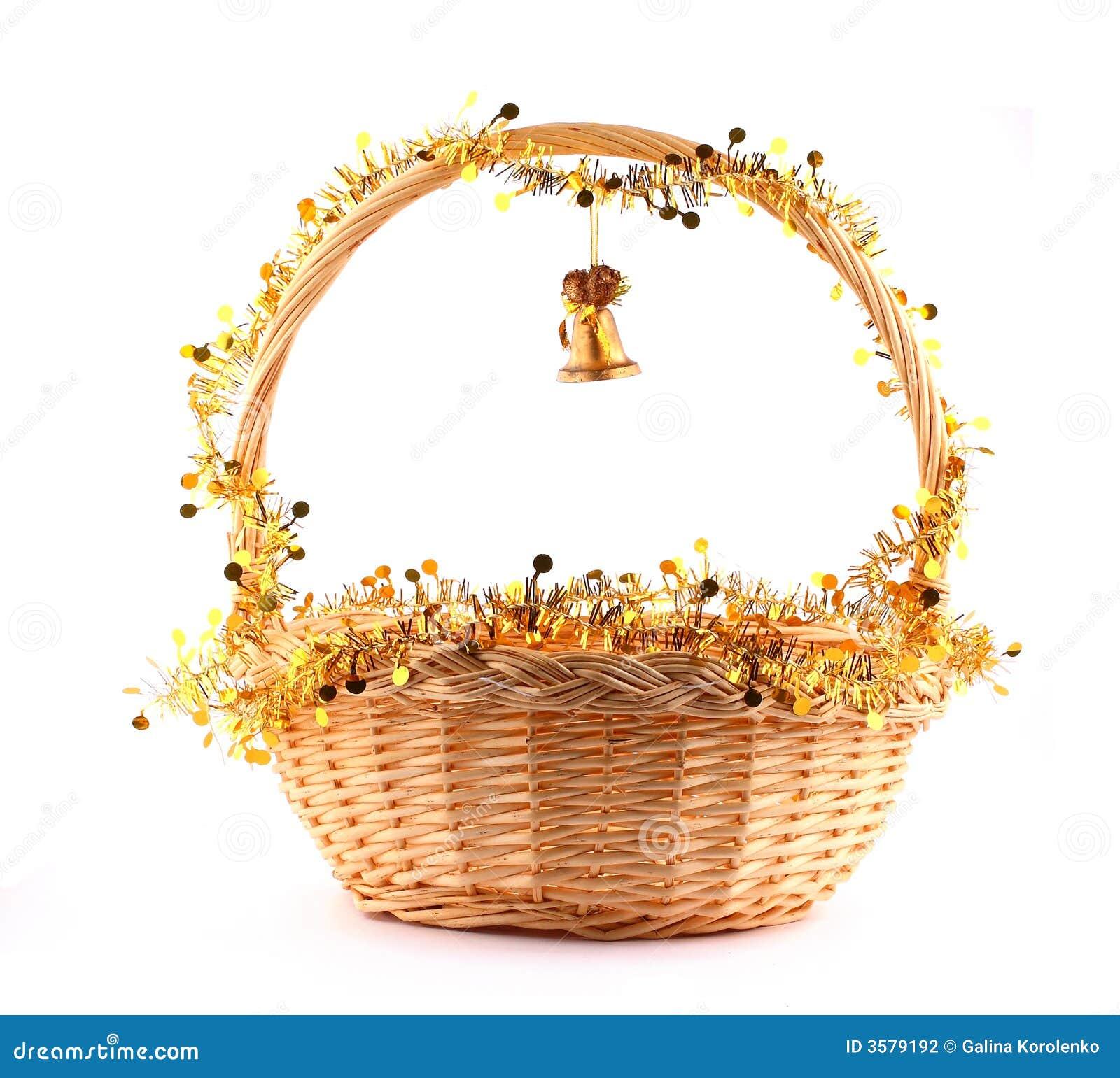 κουδούνι καλαθιών χρυσό