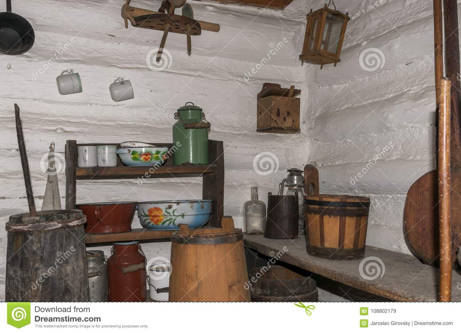 κουζίνα μεσαιωνική