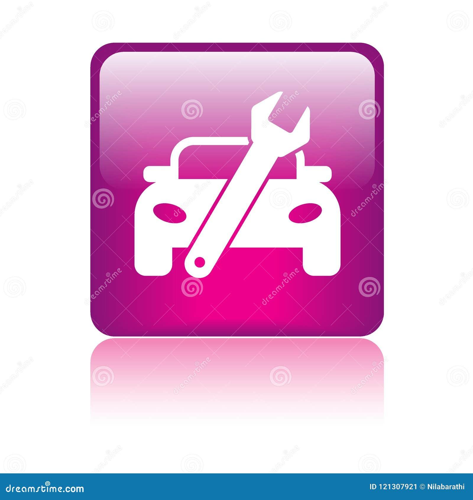 Κουμπί εικονιδίων επισκευής αυτοκινήτων