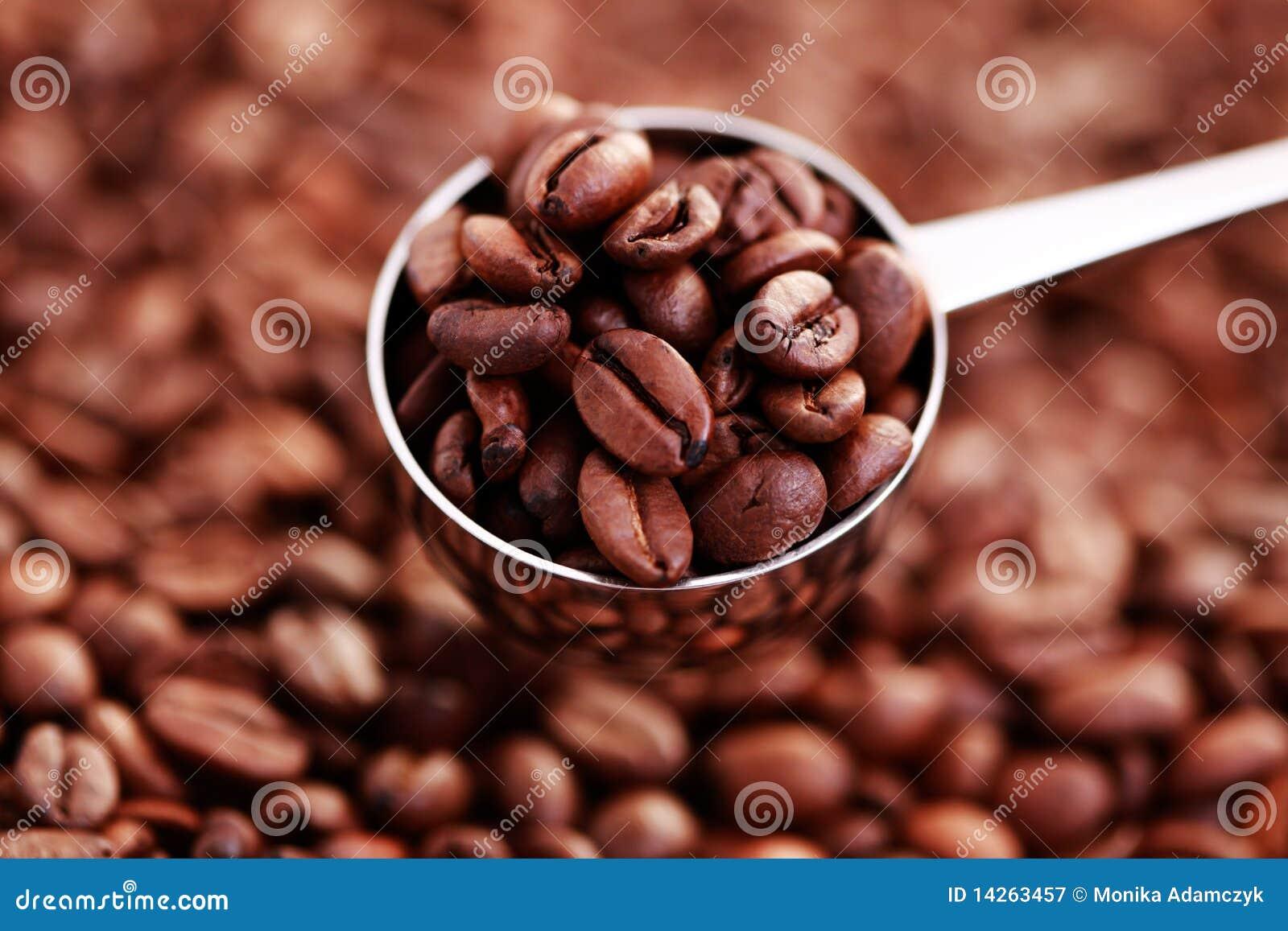 κουτάλι καφέ φασολιών
