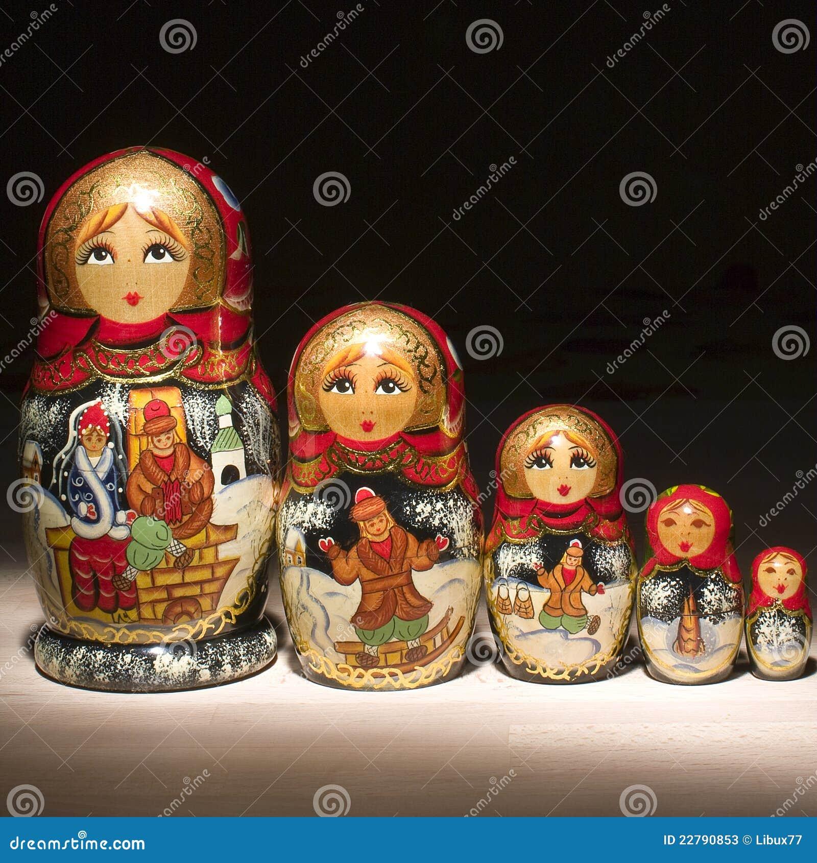 κούκλες ρωσικά