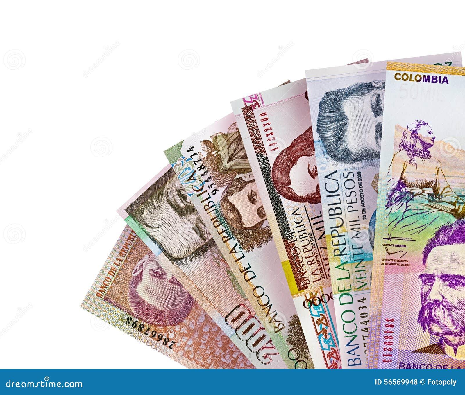 Download Κολομβιανό υπόβαθρο Bill πέσων Στοκ Εικόνες - εικόνα από αποδοχές, κολομβία: 56569948