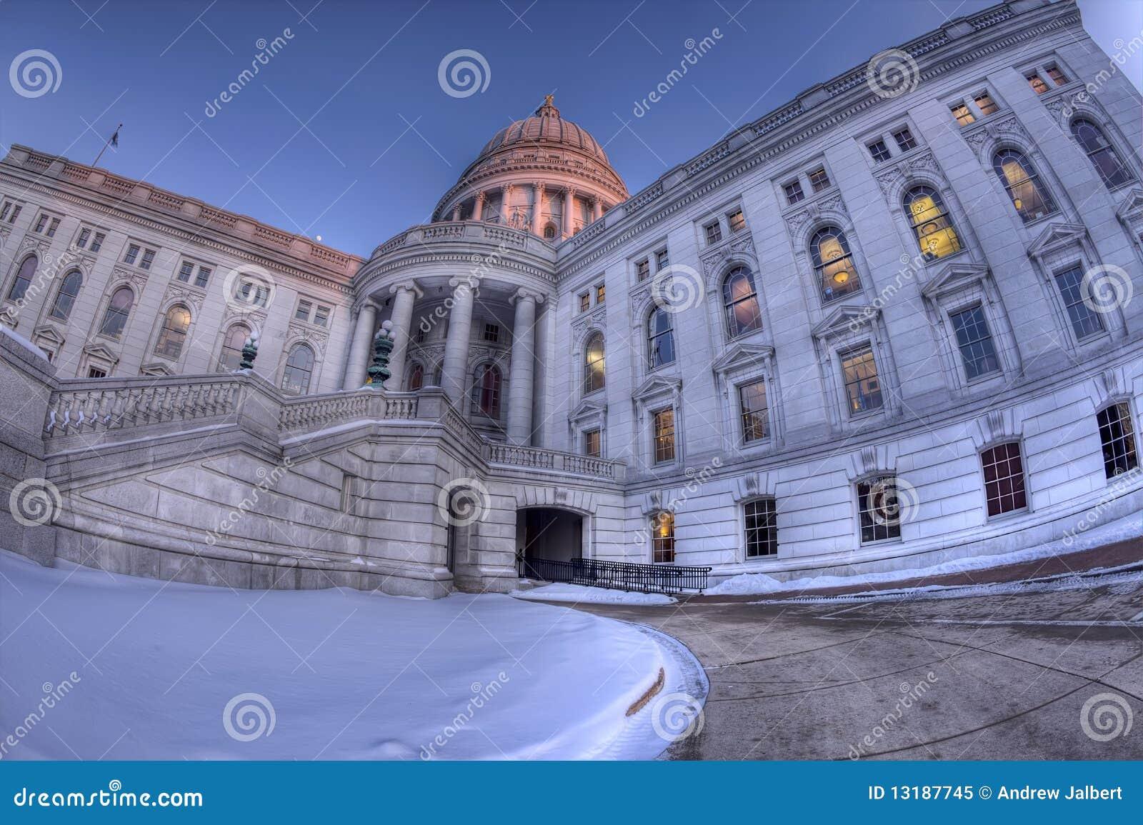κράτος Wisconsin capitol hdr