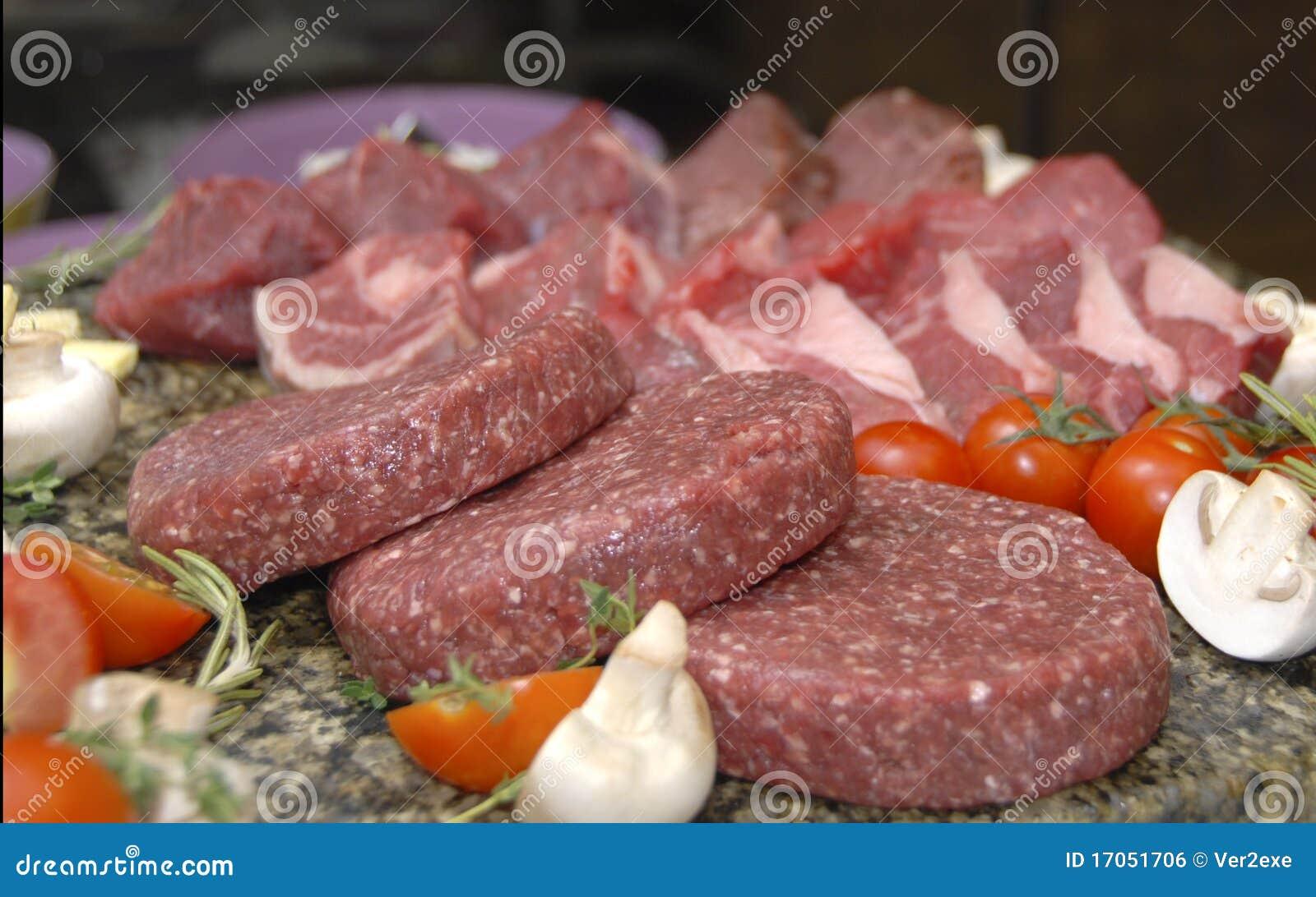 κρέας ακατέργαστο